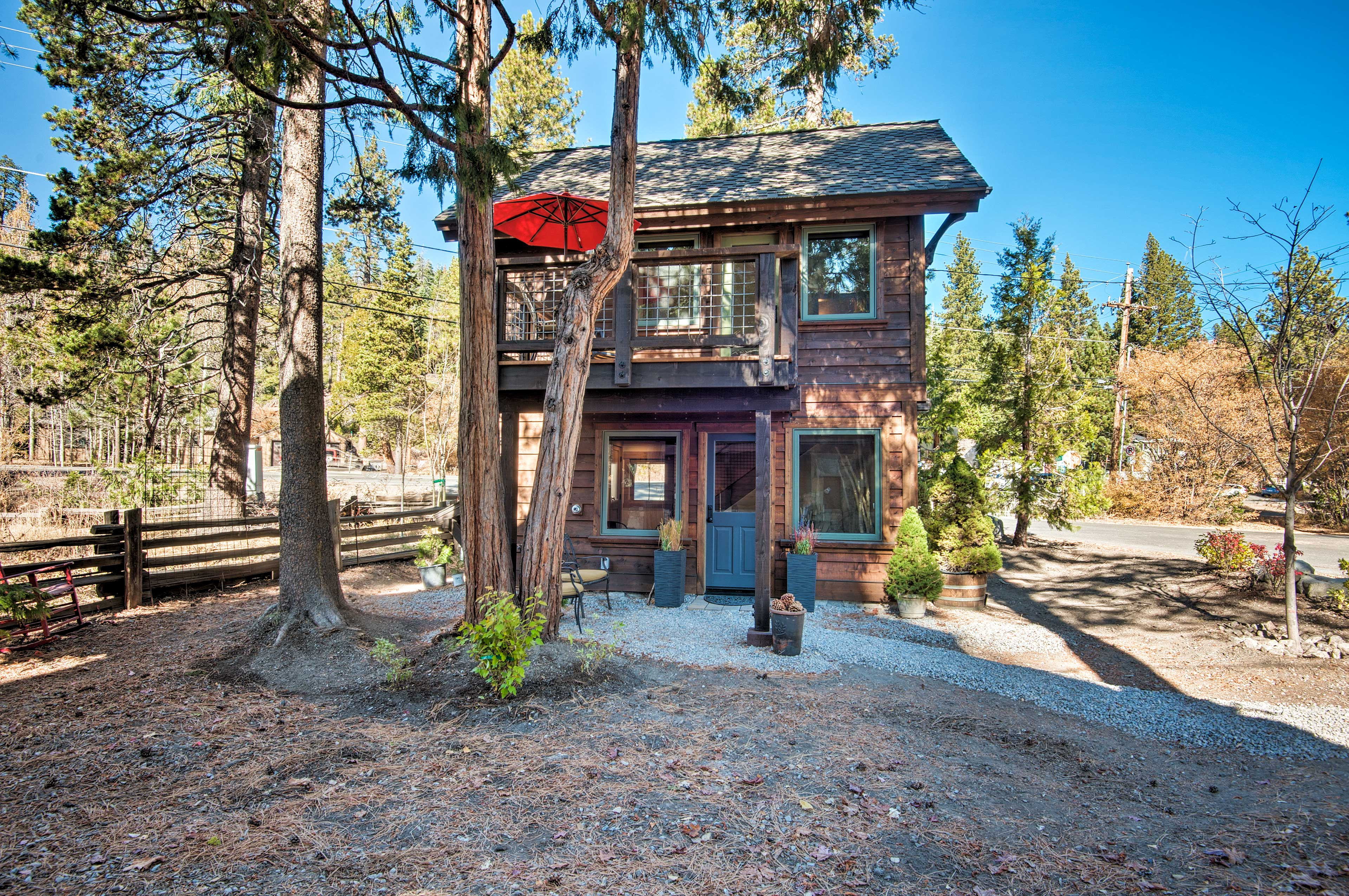 Grab a local bite by walking half a mile to downtown Tahoe City.