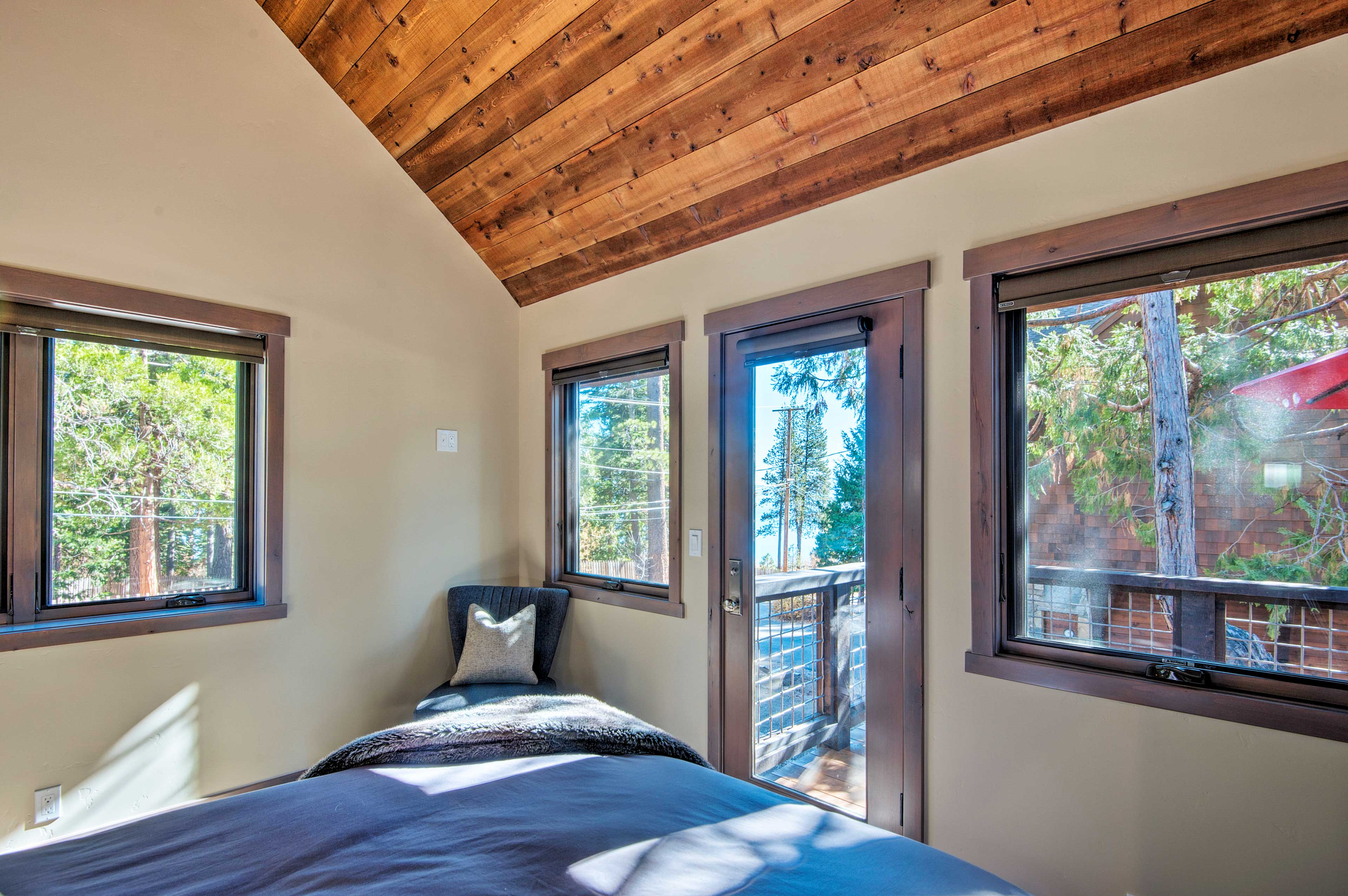 Wake up & smell the fresh lake air with direct balcony access.