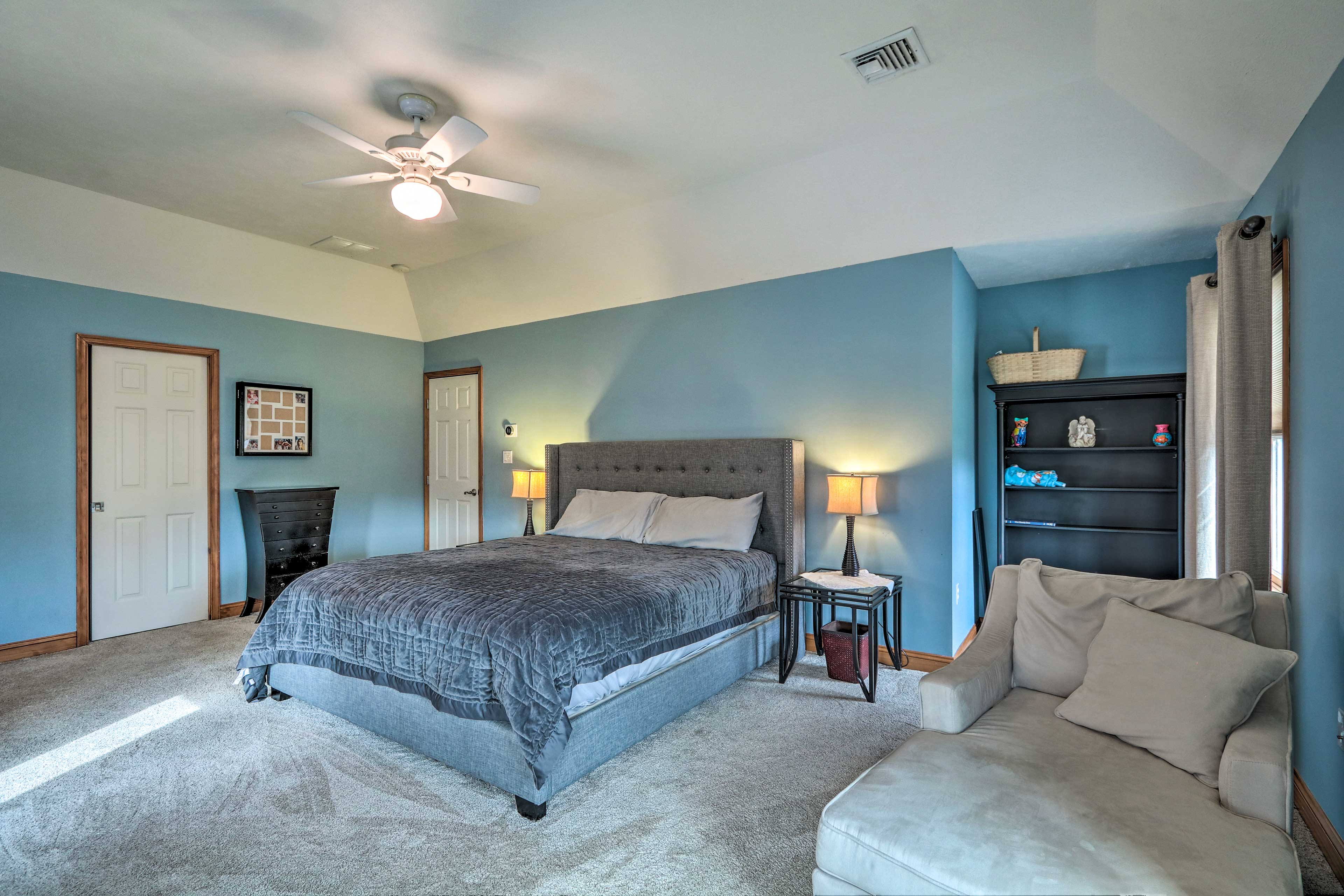 You'll have ample space to relax in the master bedroom.