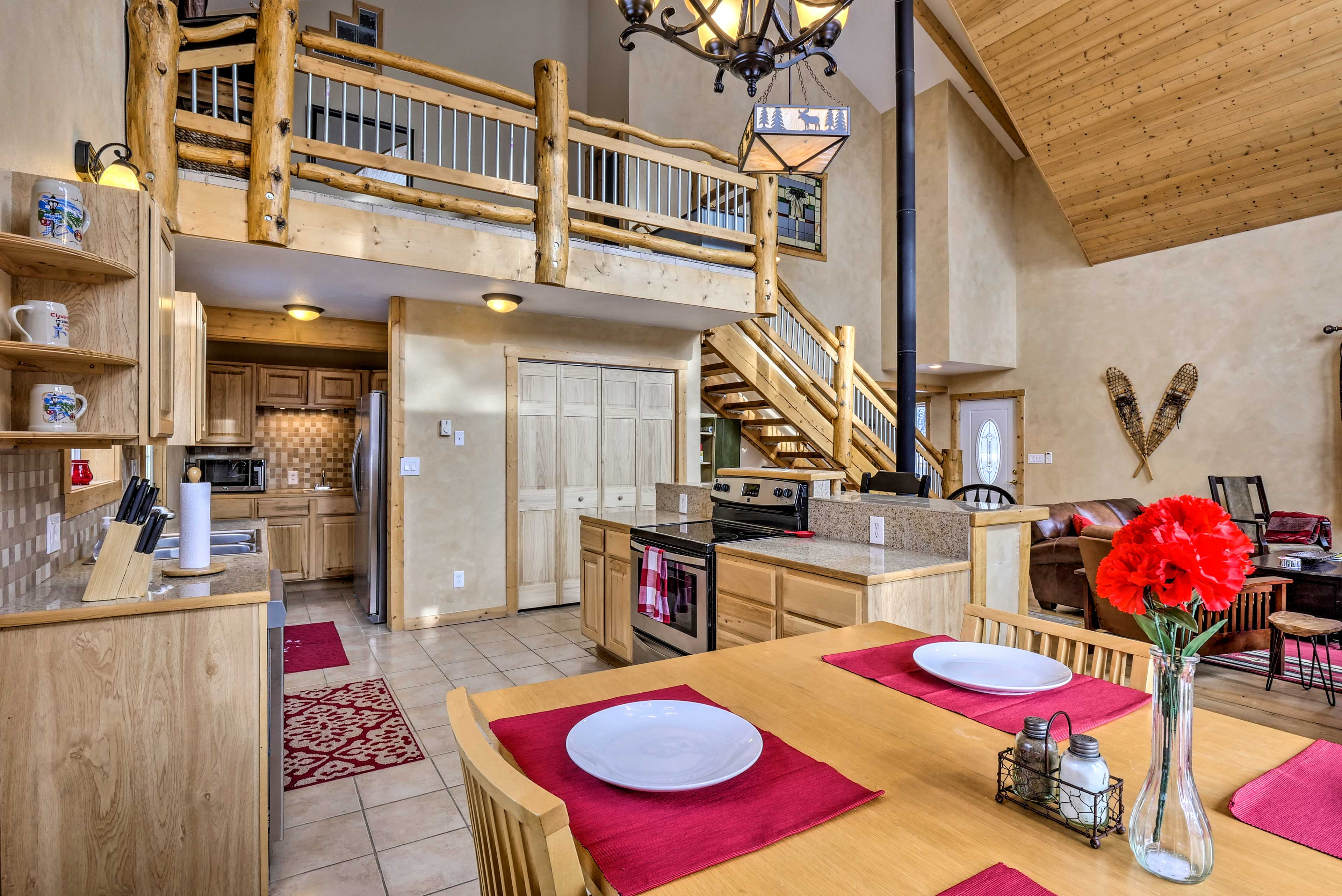 This vacation rental boasts all the modern essentials.