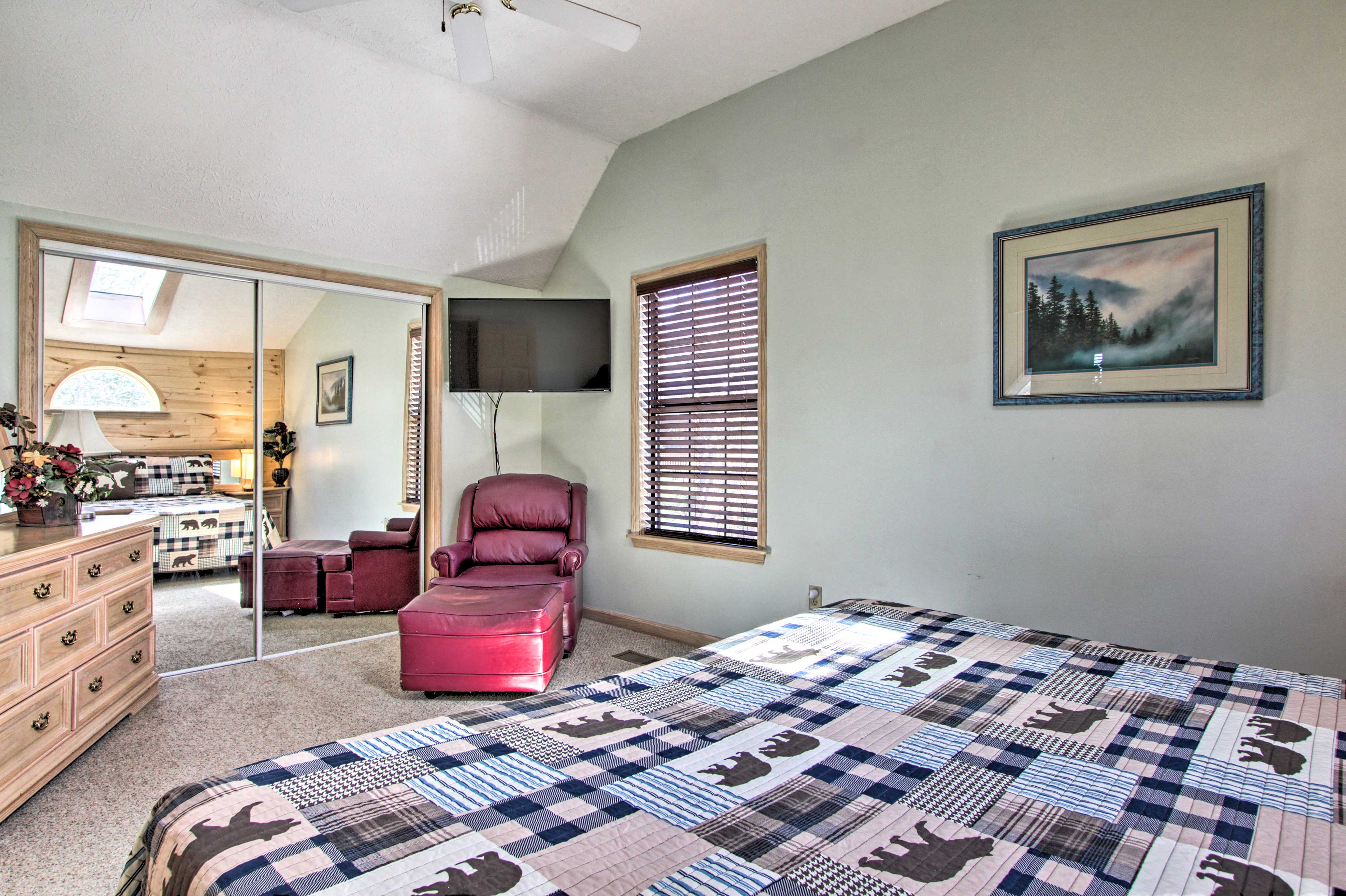 Claim this master bedroom as your own!