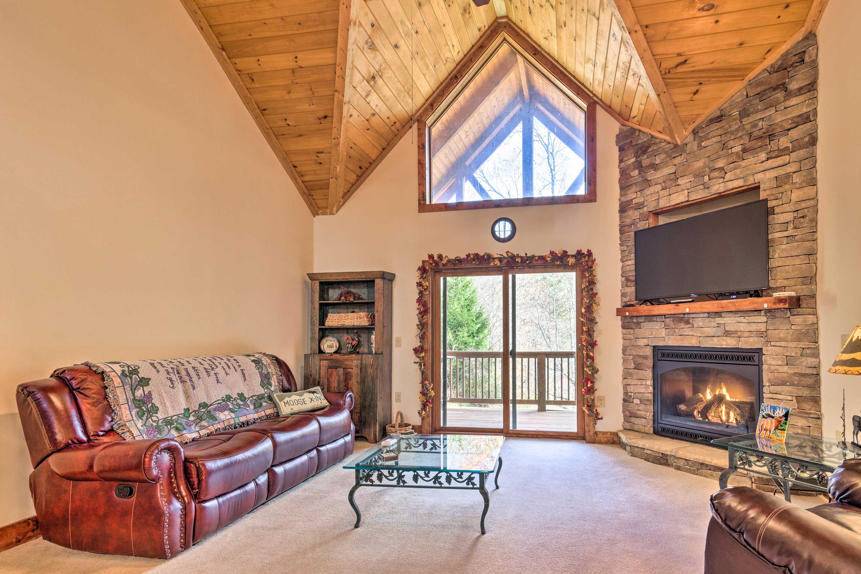 Your scenic Blue Ridge escape begins at this vacation rental condo!