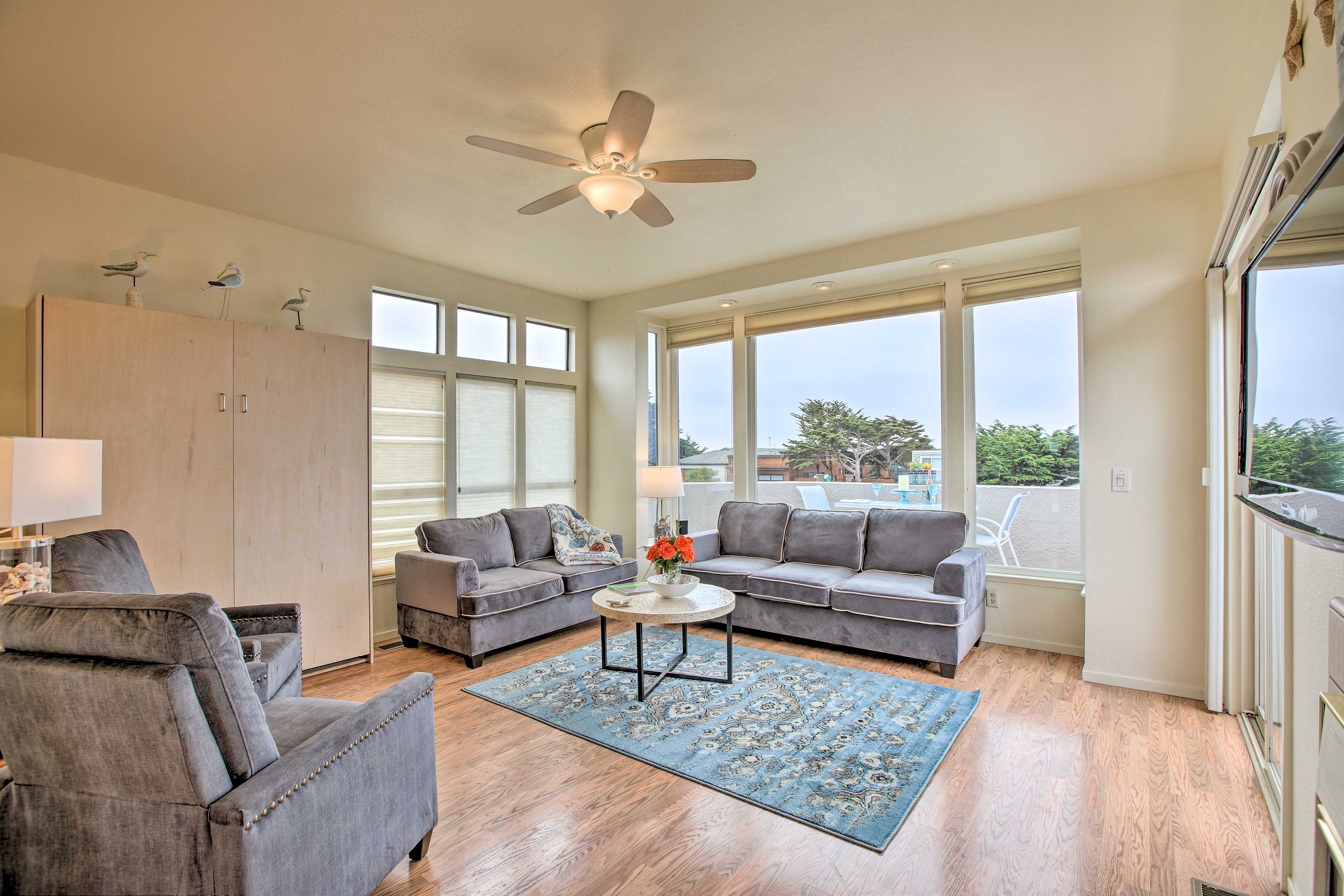 Claim this spacious 2-bed, 2-bath Cambria vacation rental as your own!