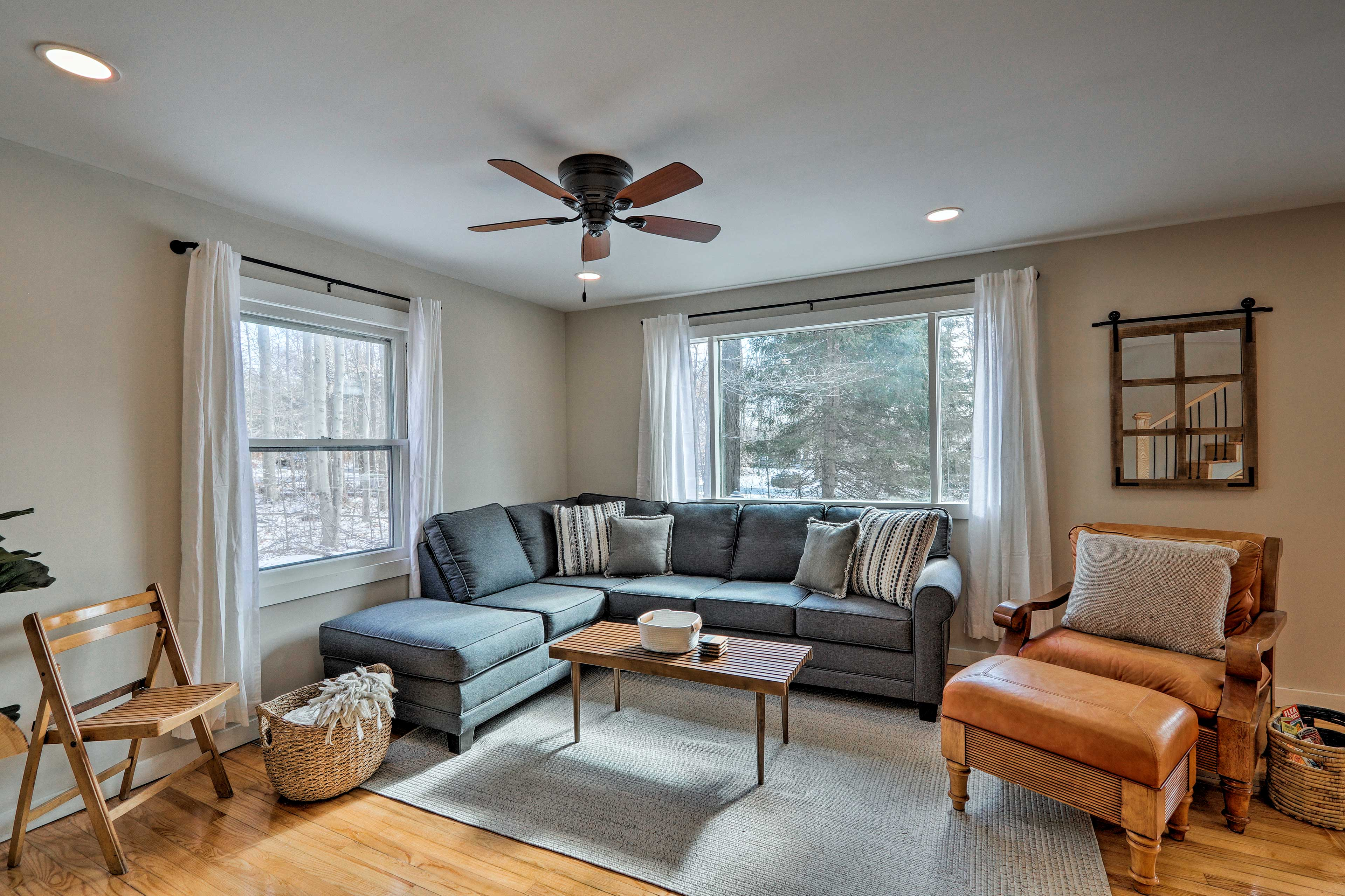 Make yourself at home in this Pocono Pines vacation rental!