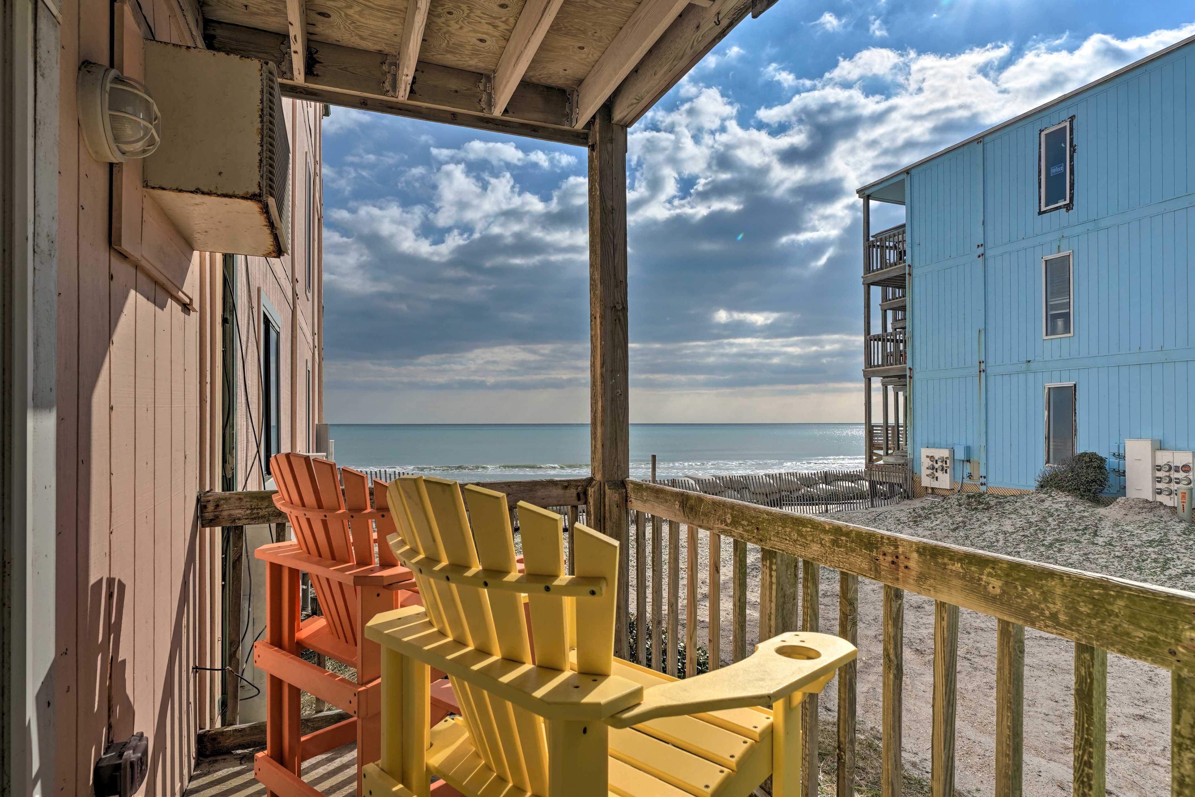 Your North Carolina getaway begins at this vacation rental!