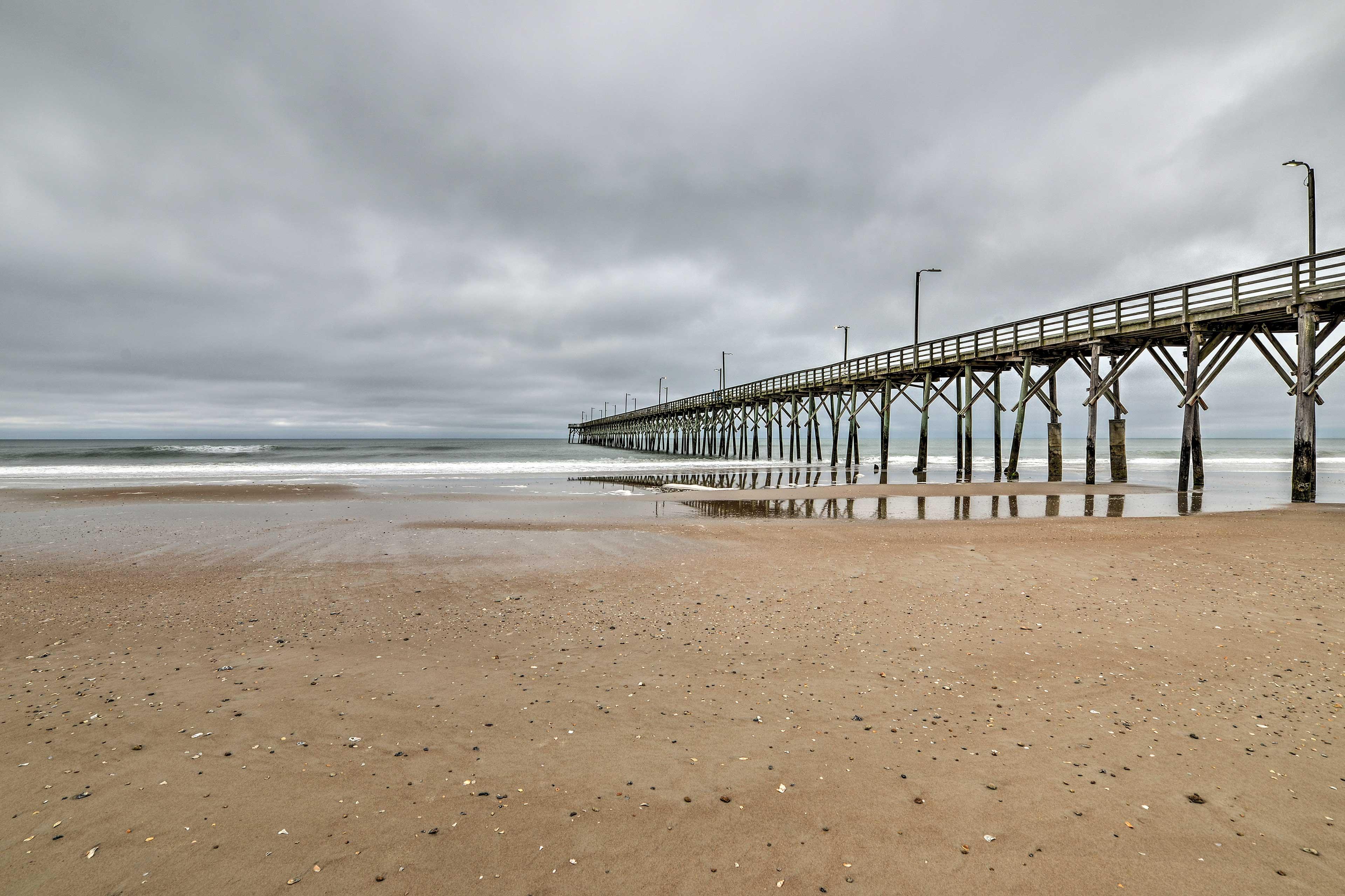 Take a walk to the pier.
