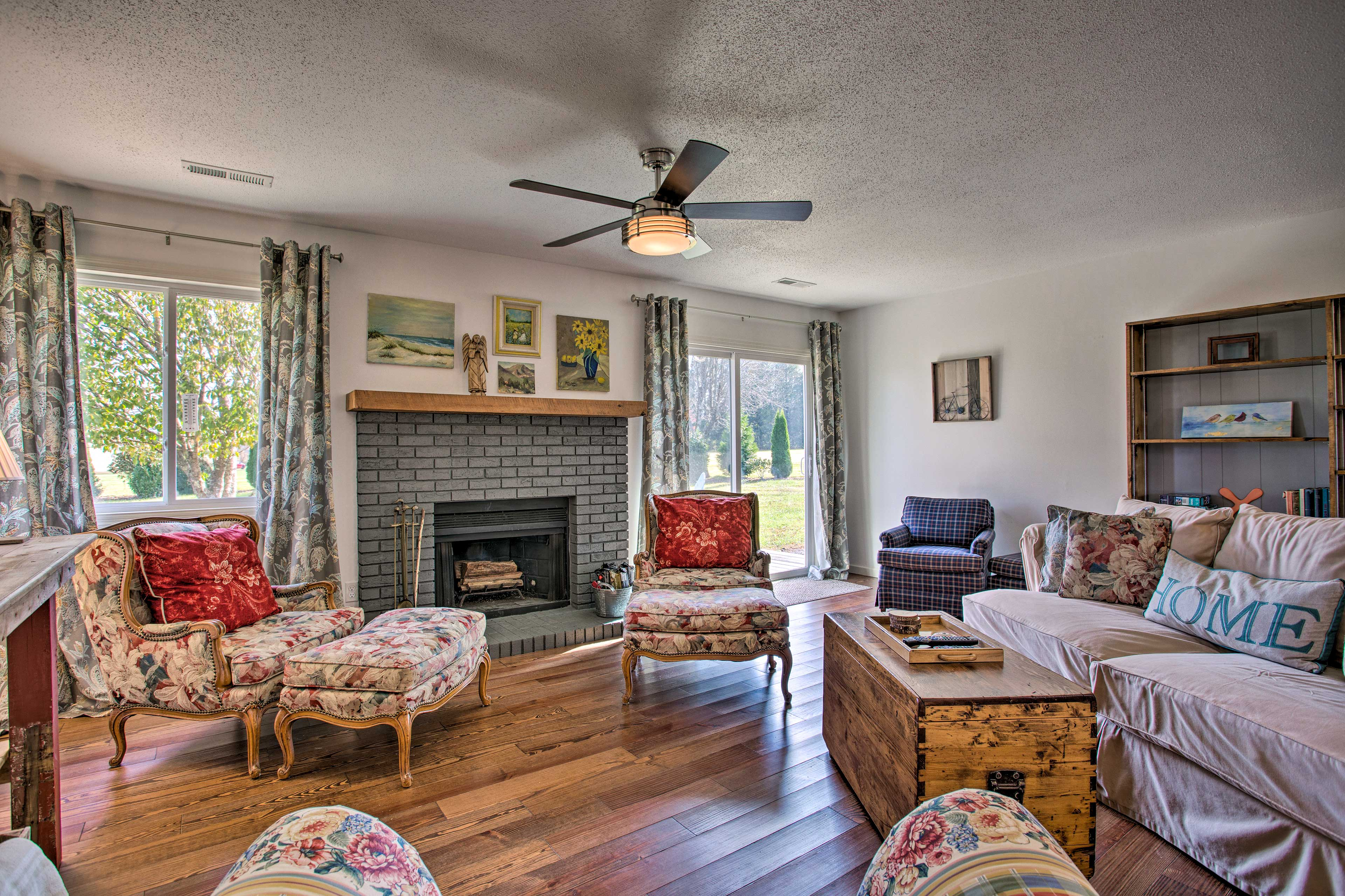 All the at-home comforts await after days spent exploring North Carolina!