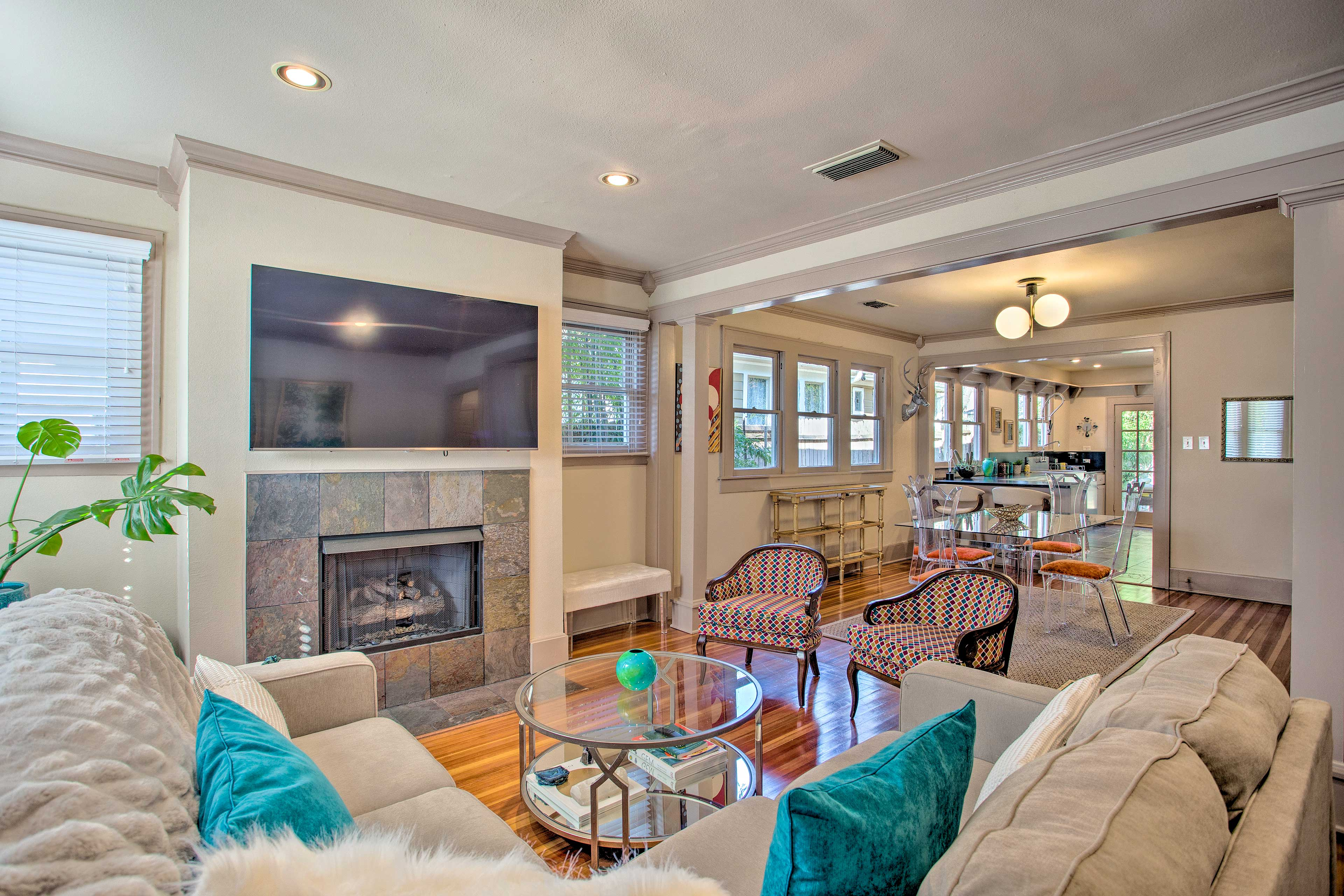 Experience the best of Dallas from this vacation rental house!