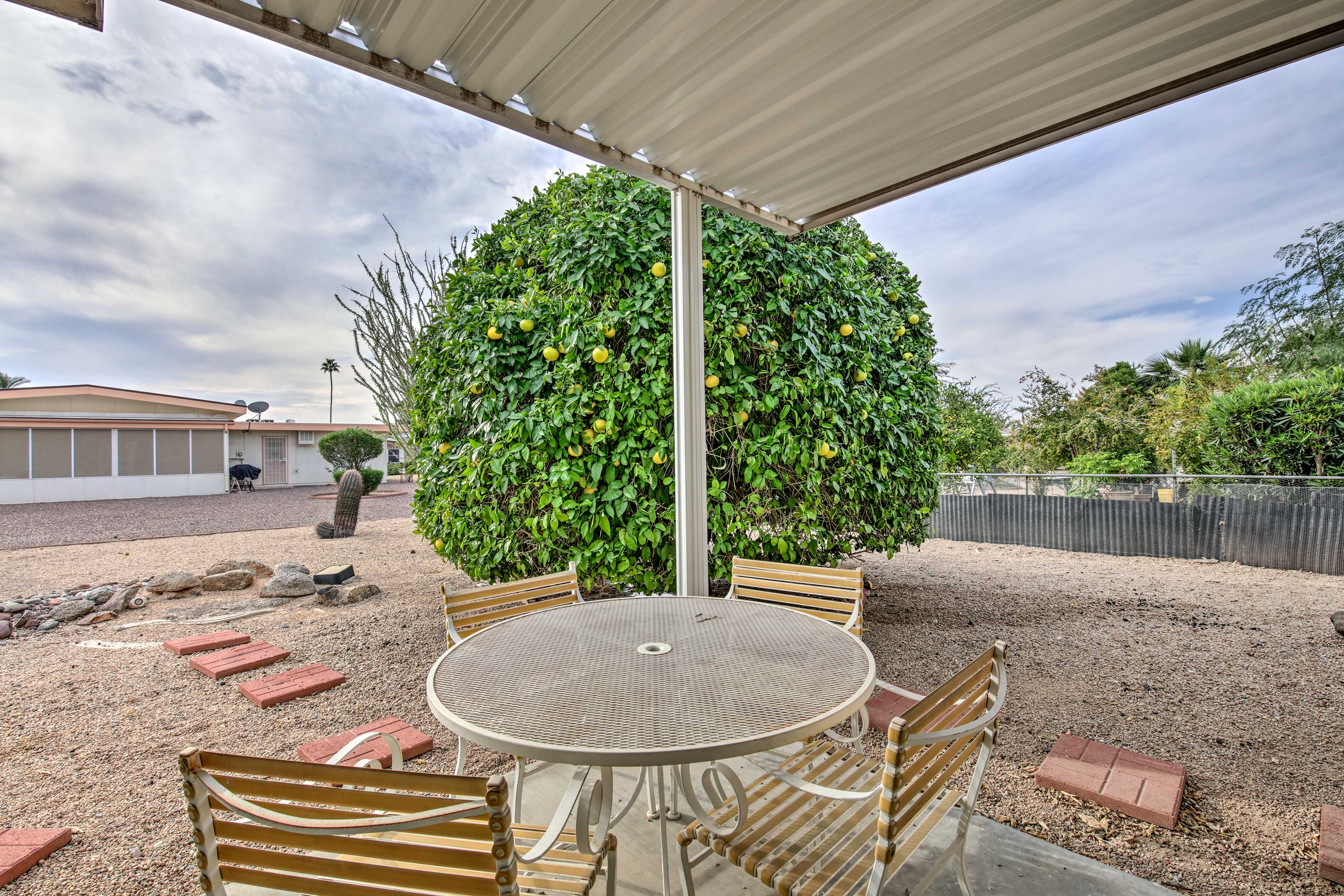 This Sun City escape offers a peaceful home base to enjoy the area attractions.