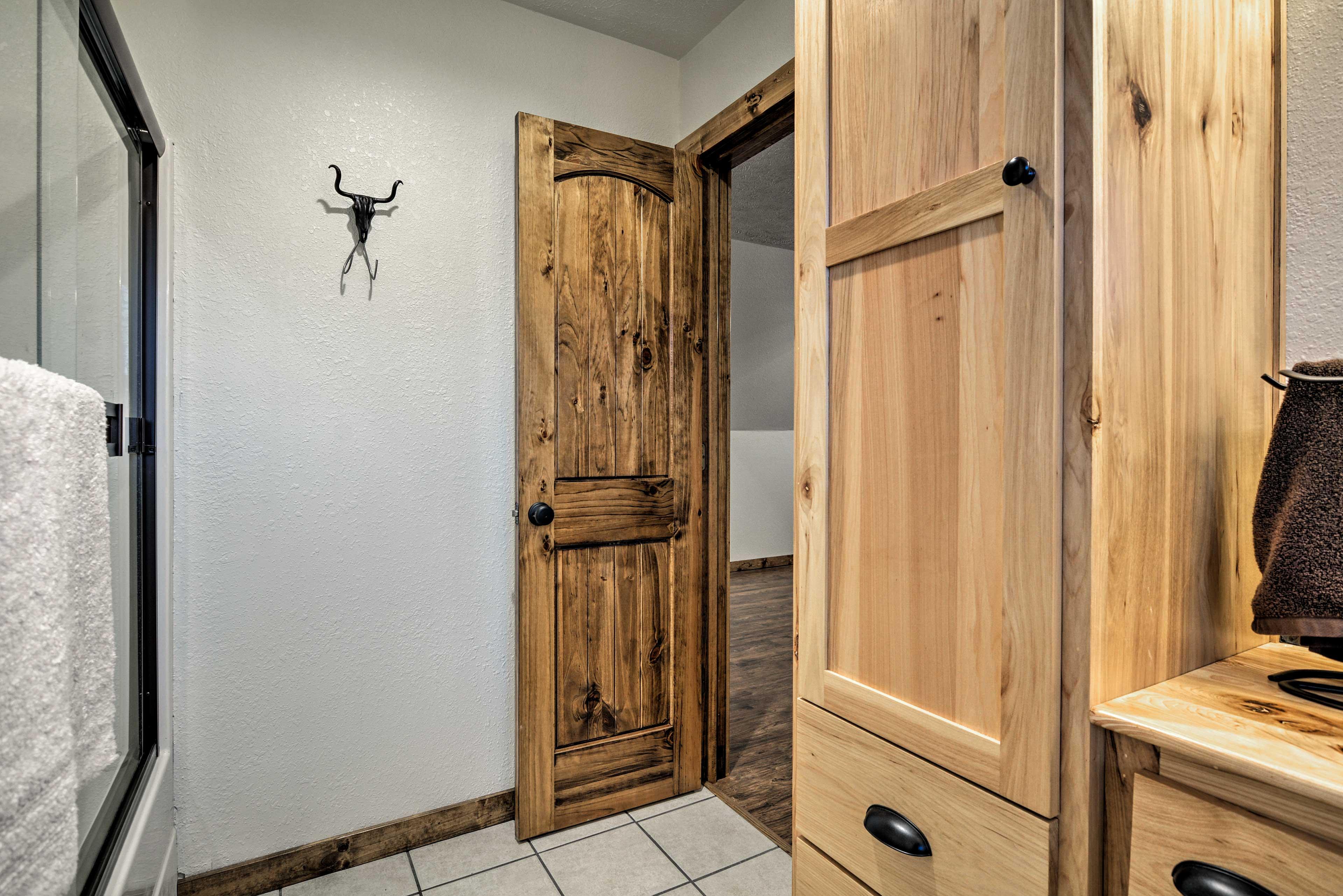 You'll love the convenience of an en-suite bathroom.