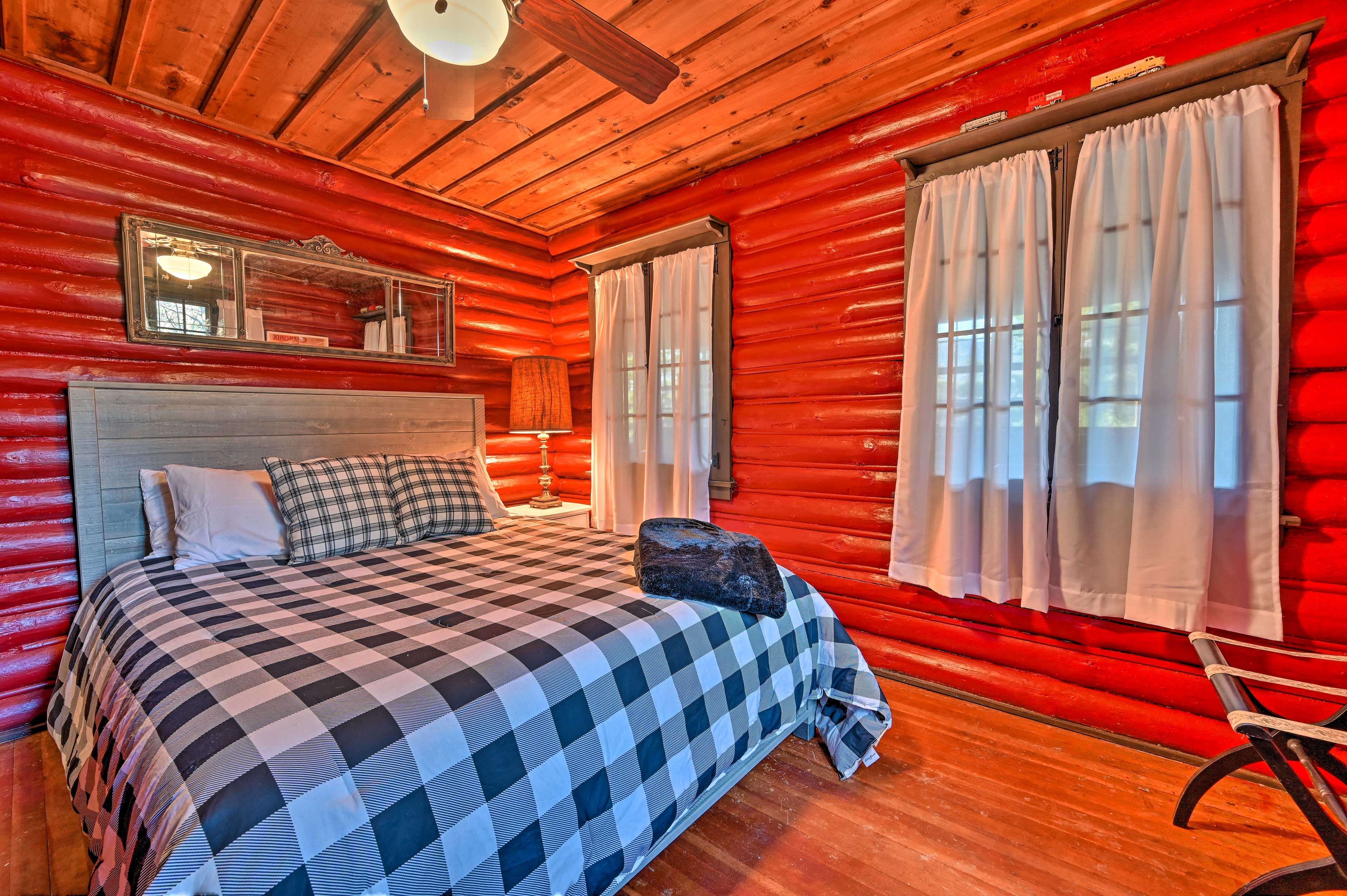 Claim this cozy bedroom as your own!