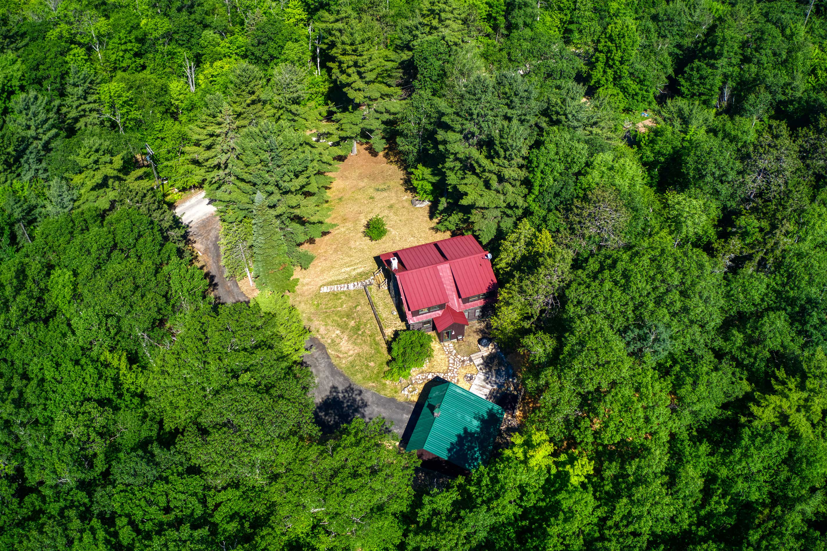 This private woodland cabin is yours for the taking, book now!