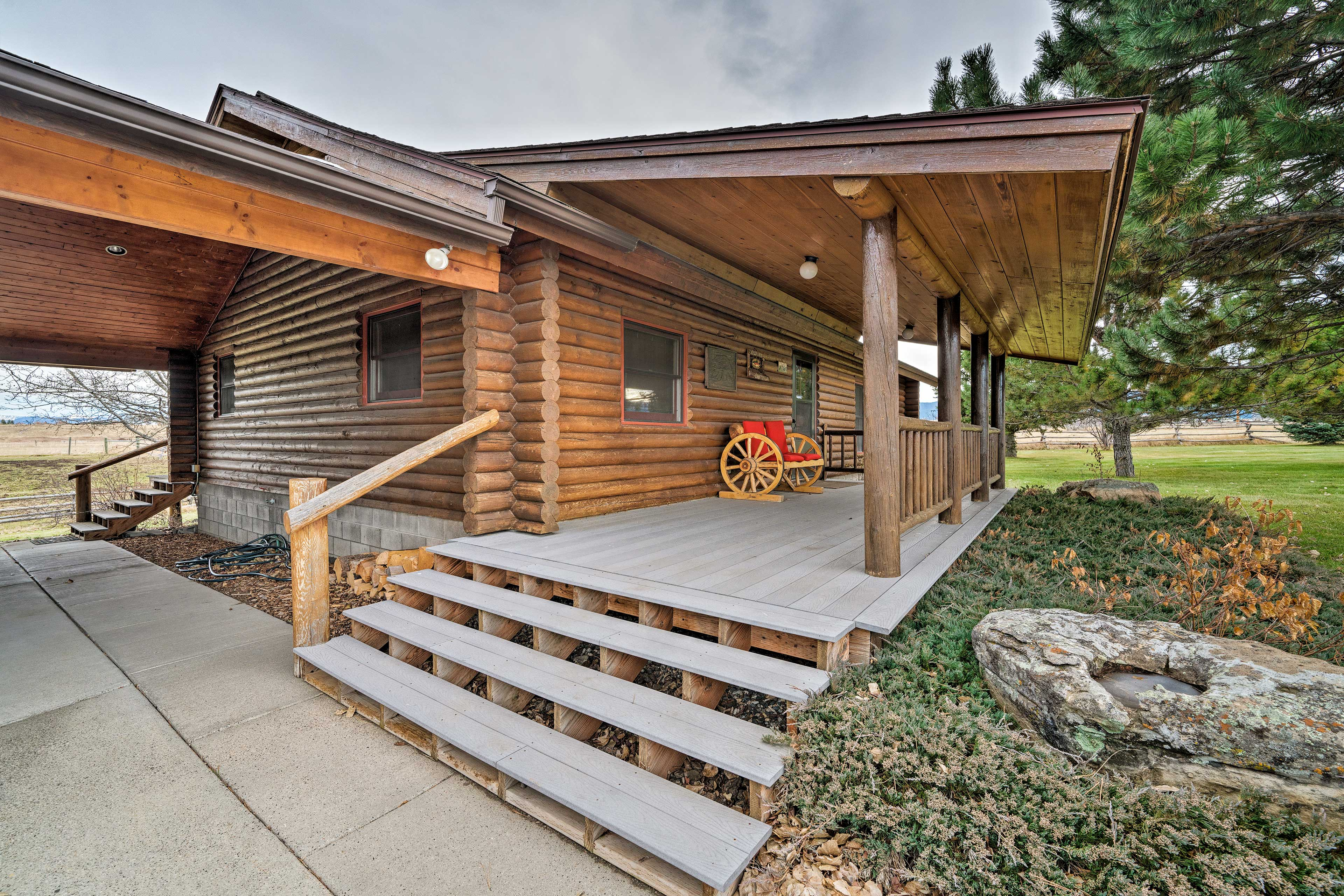 This Gallatin Gateway home is the perfect escape.