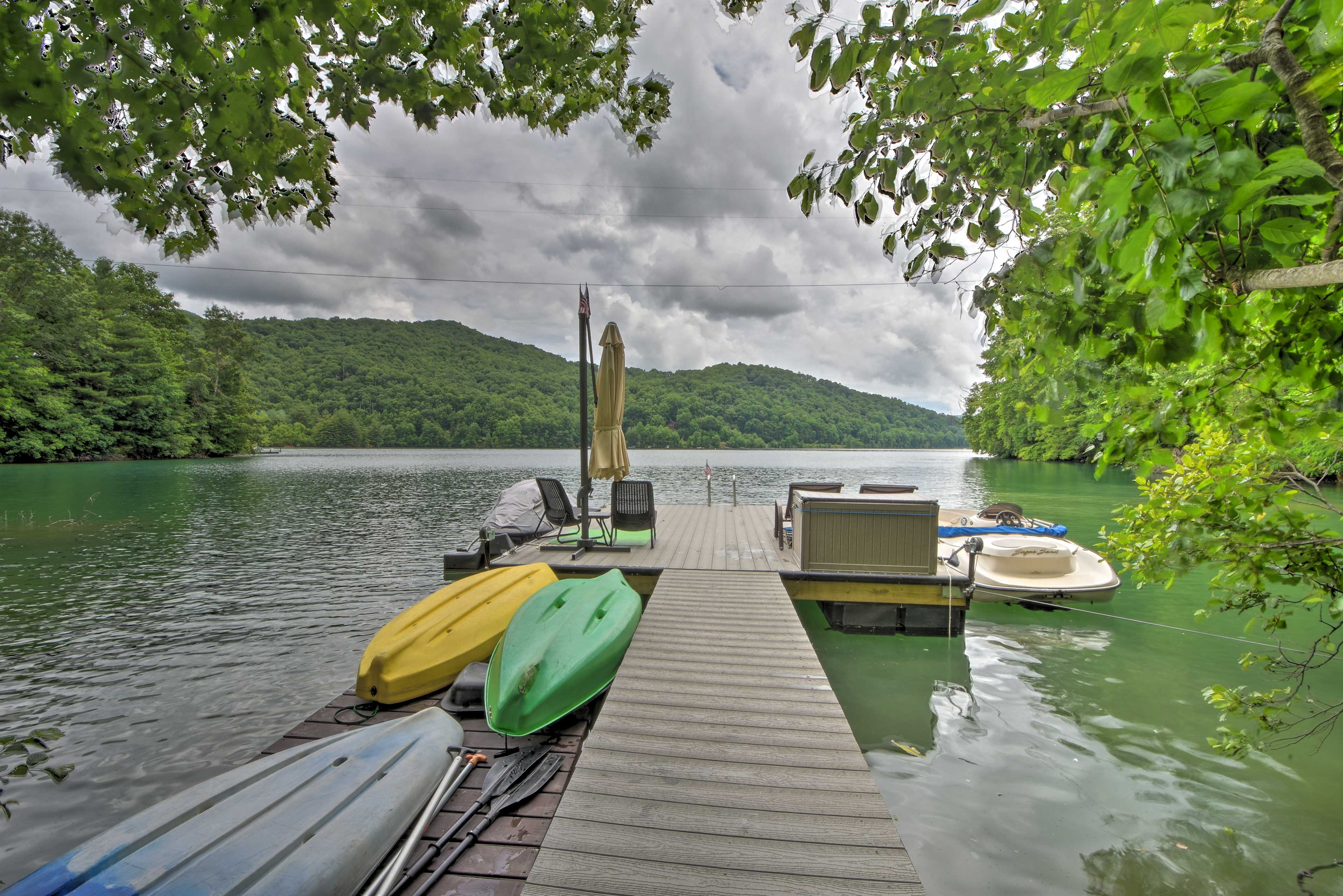 Spend your days on the water!