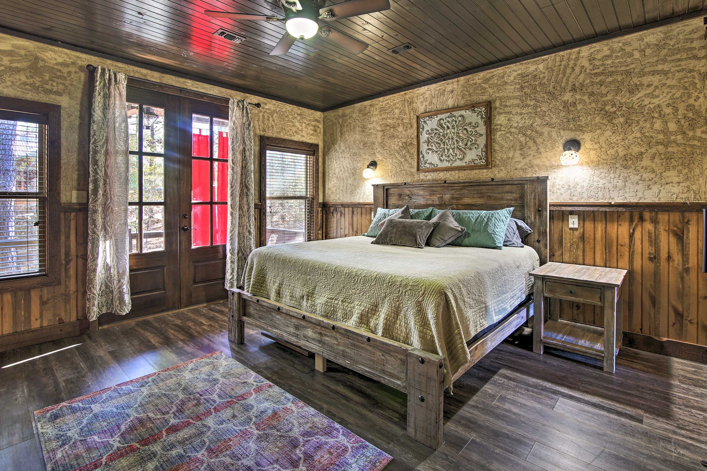 Step out onto the balcony as soon as you awake.