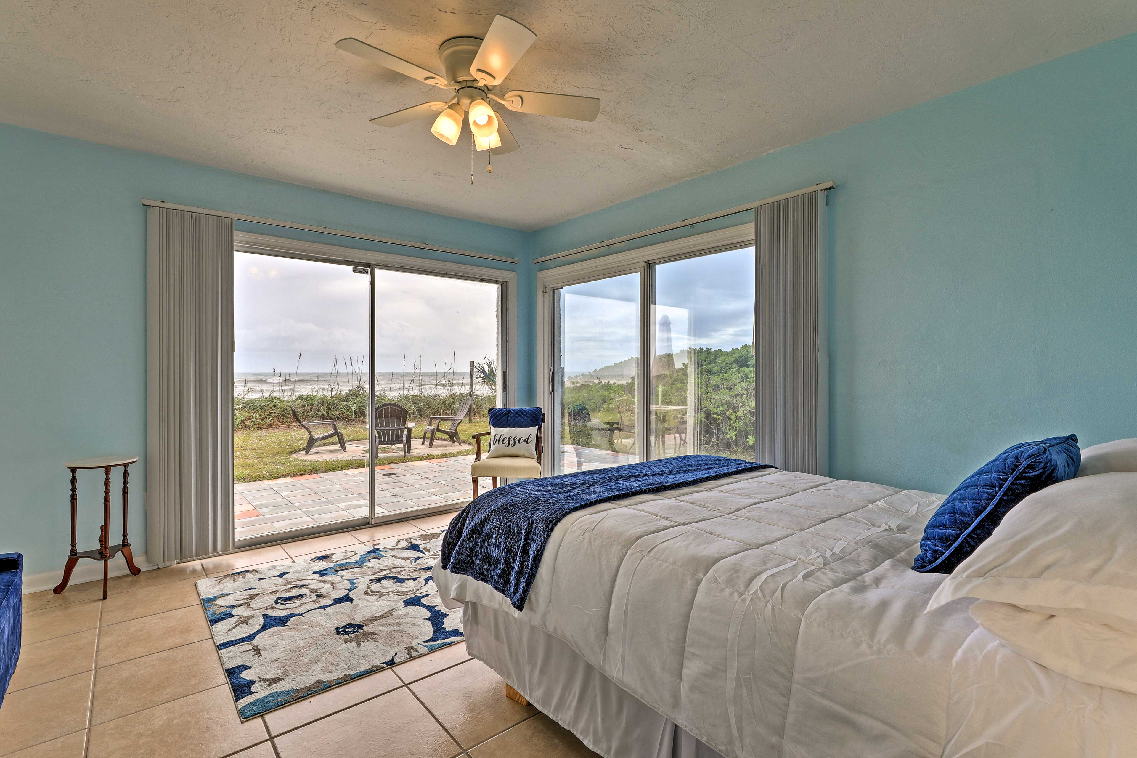 Select between the 2 bedrooms to take solace in.