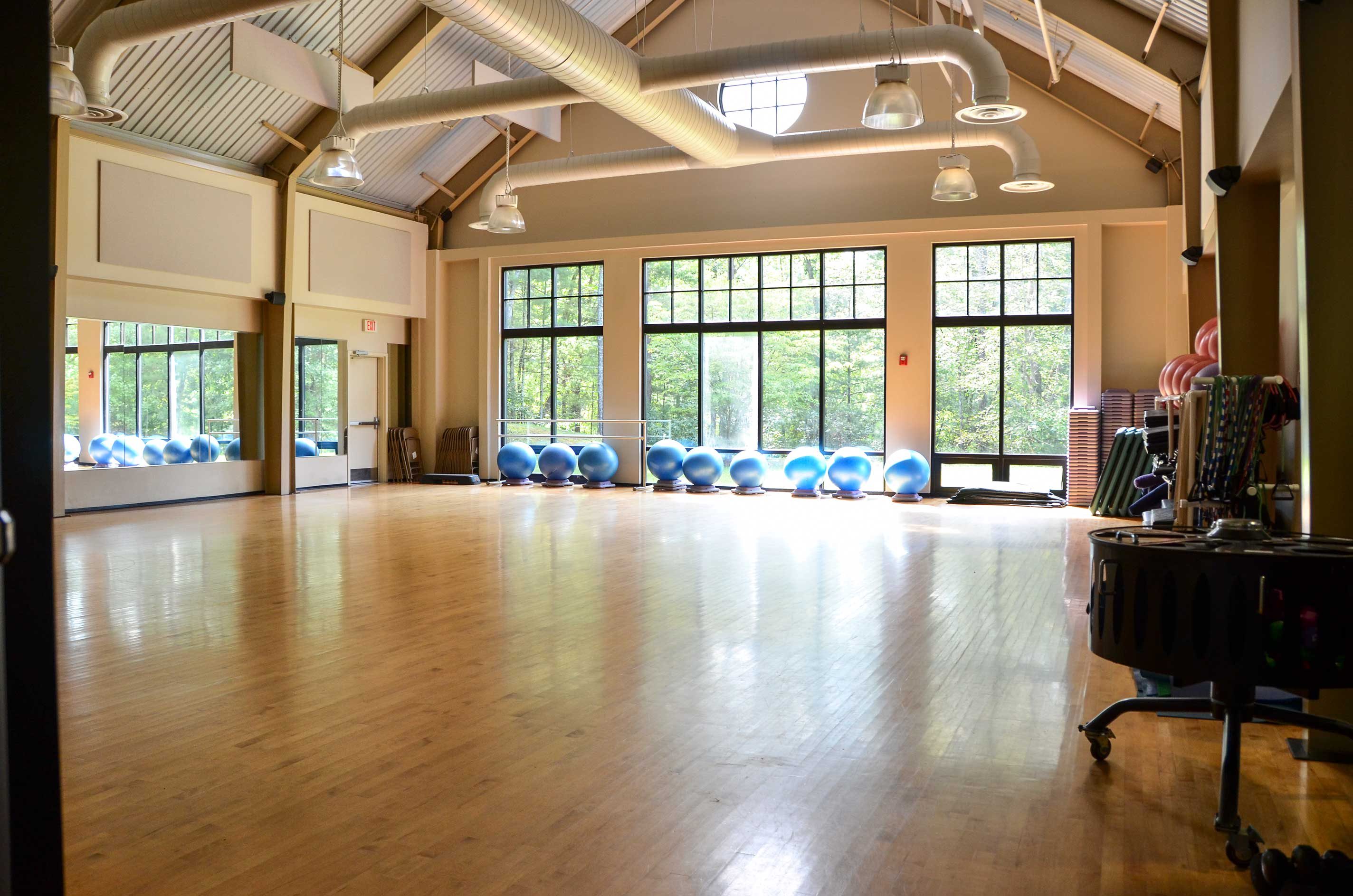 Get in on a group fitness class!