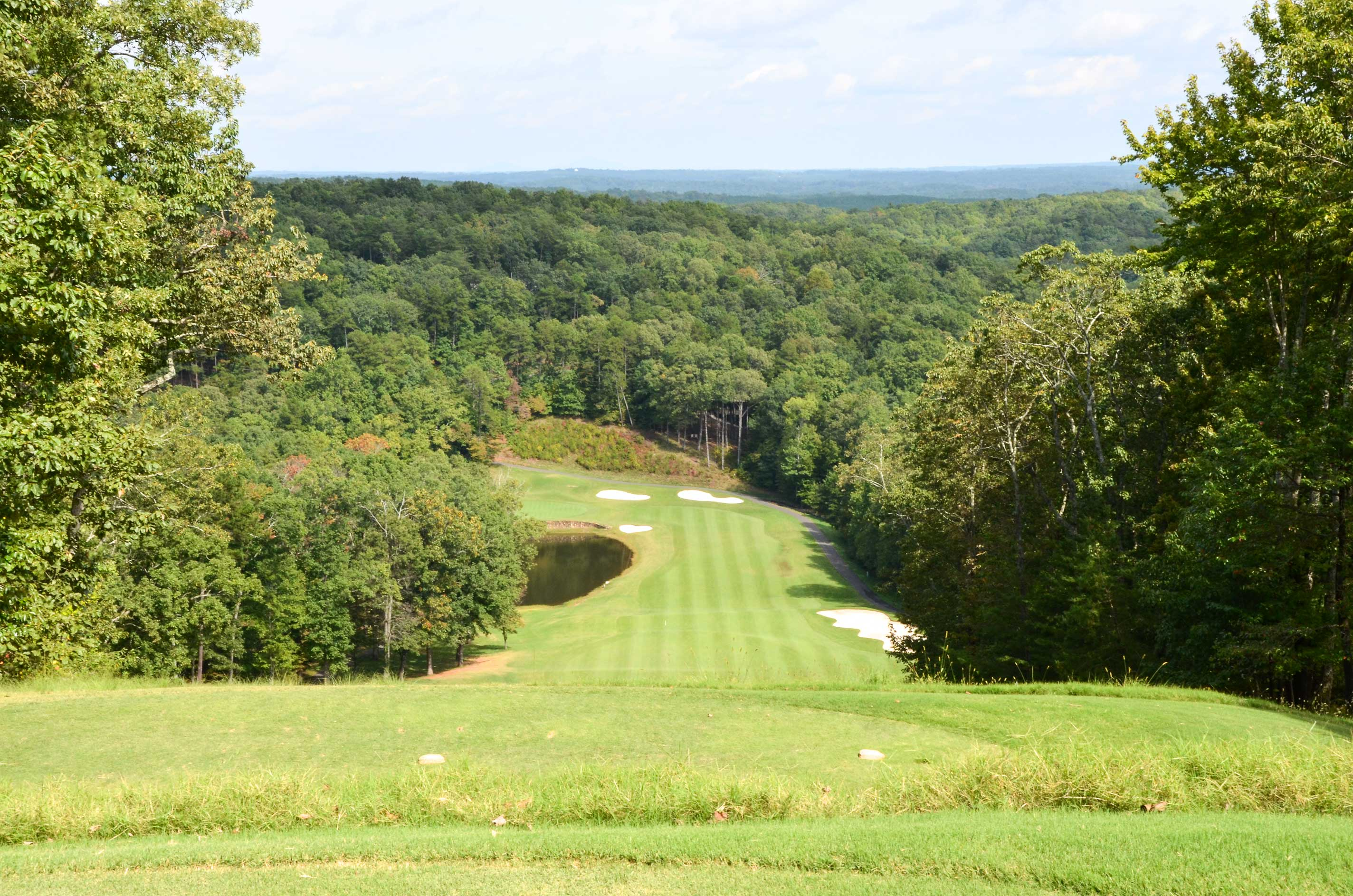 Spend your days out on the green fairways of Big Canoe.
