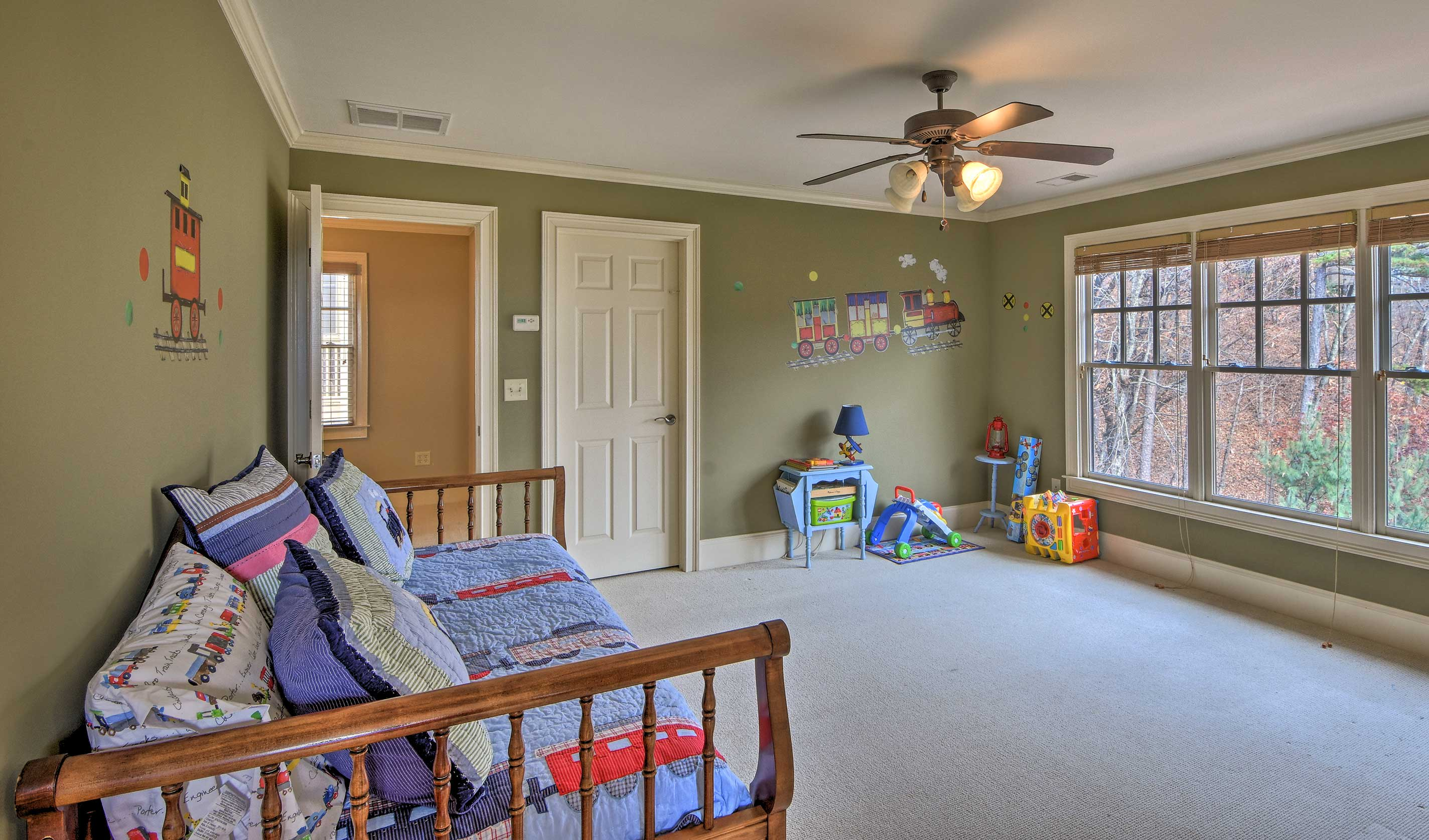Kids will quickly claim this room as their own!