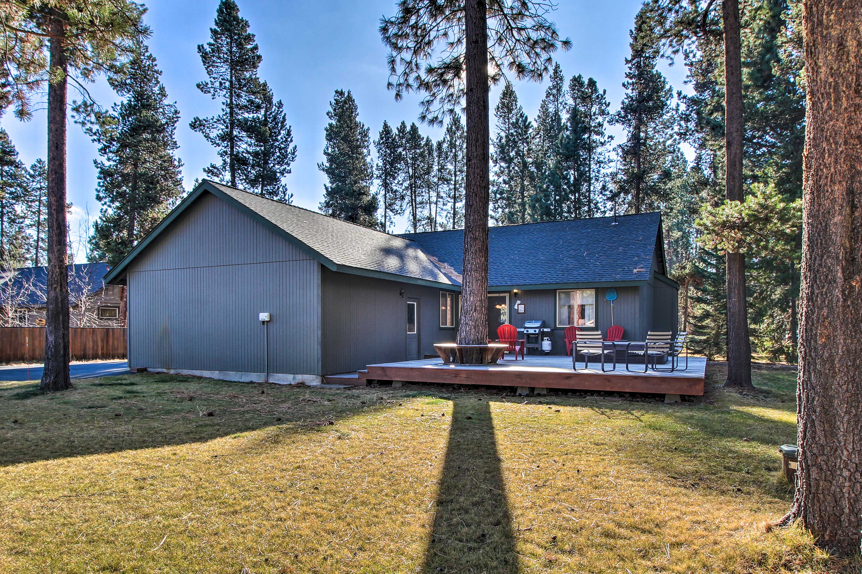 Explore all that Bend has to offer from the comforts of this vacation rental.