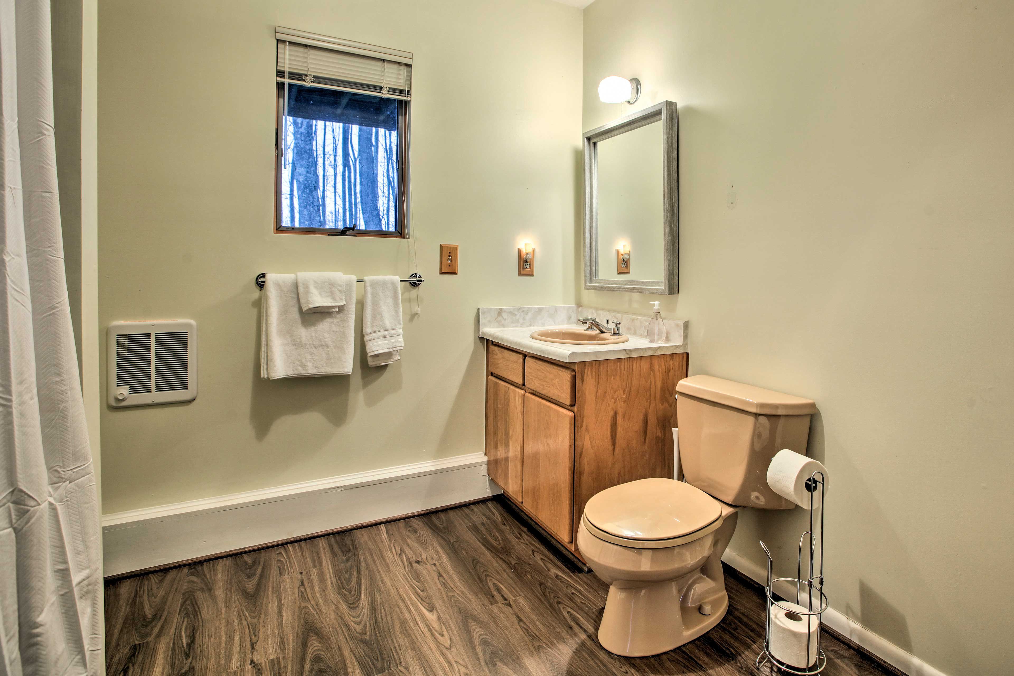 Enjoy 3 full bathrooms in this home.