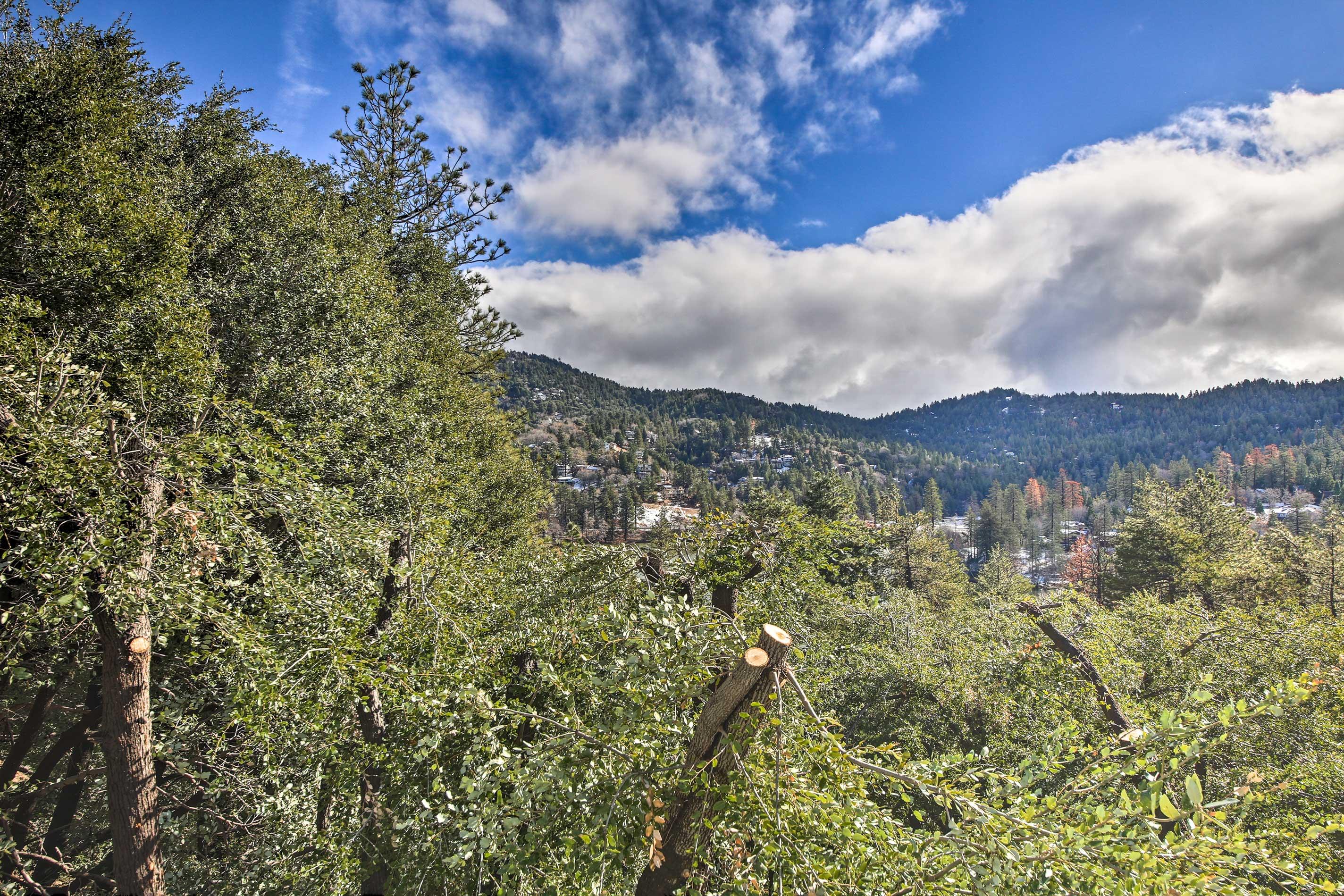 Breathe in the fresh California air.