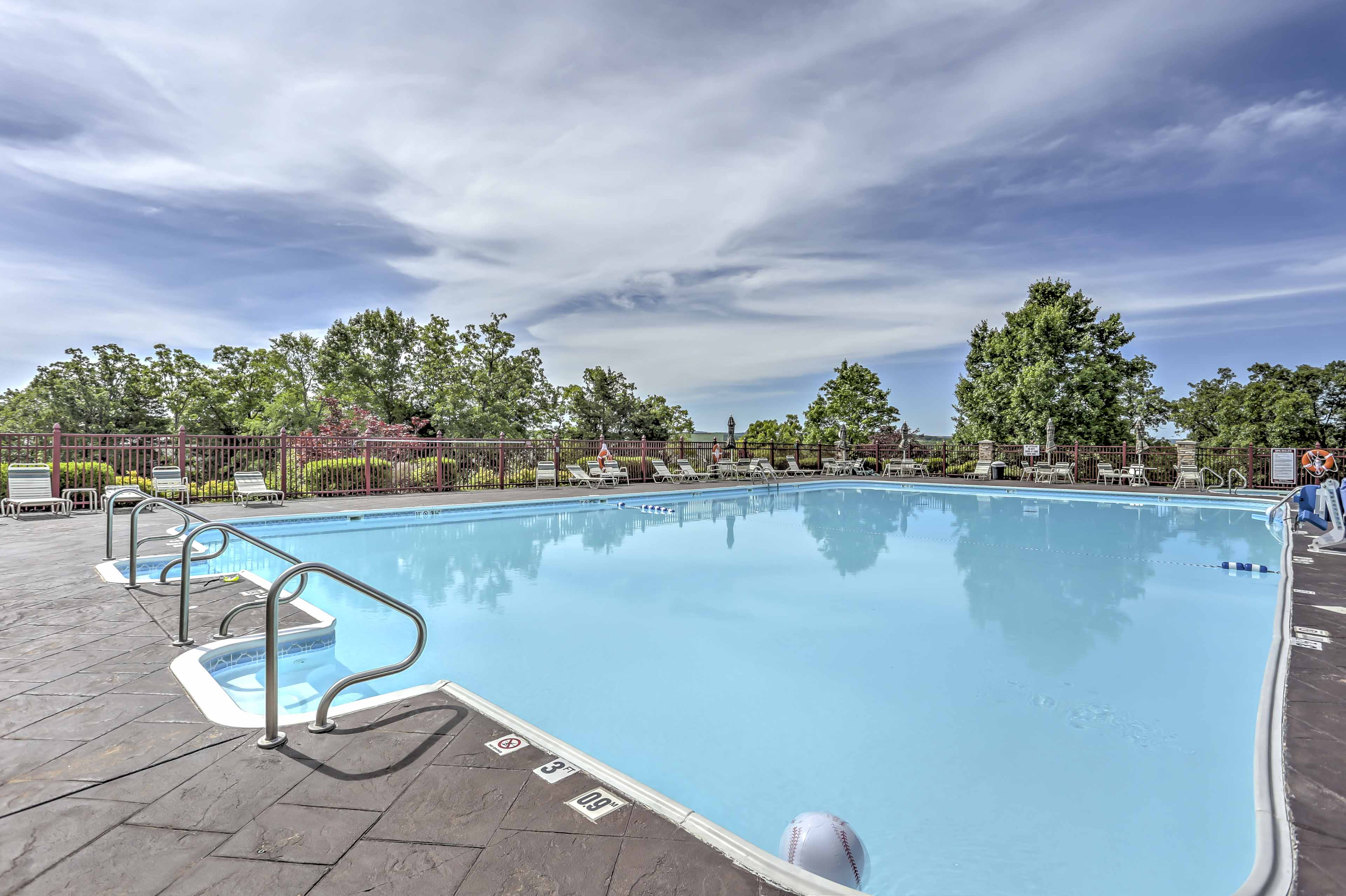 Head to the community pool for a day of fun.