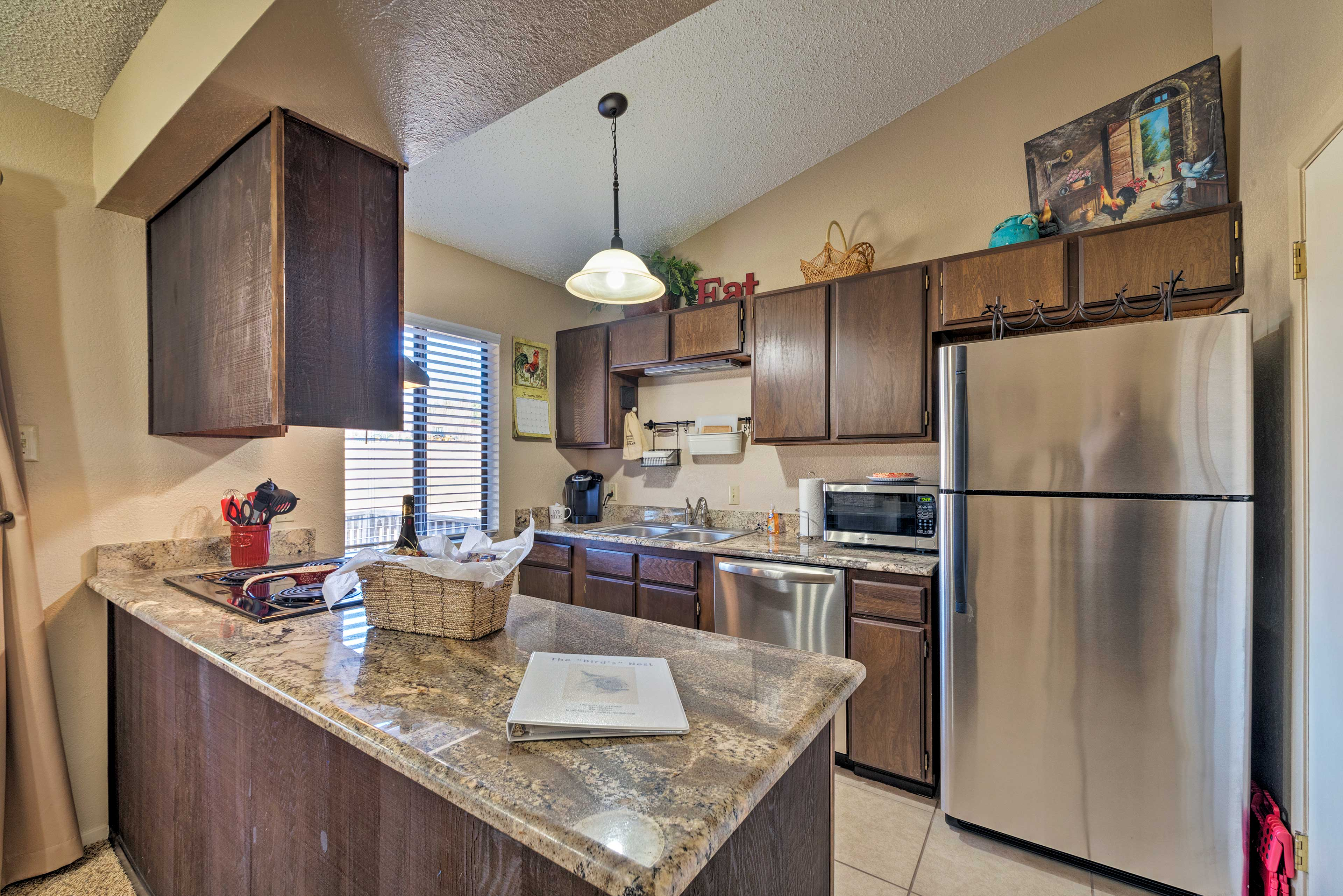 This vacation rental is ideal for your next family southwestern getaway!