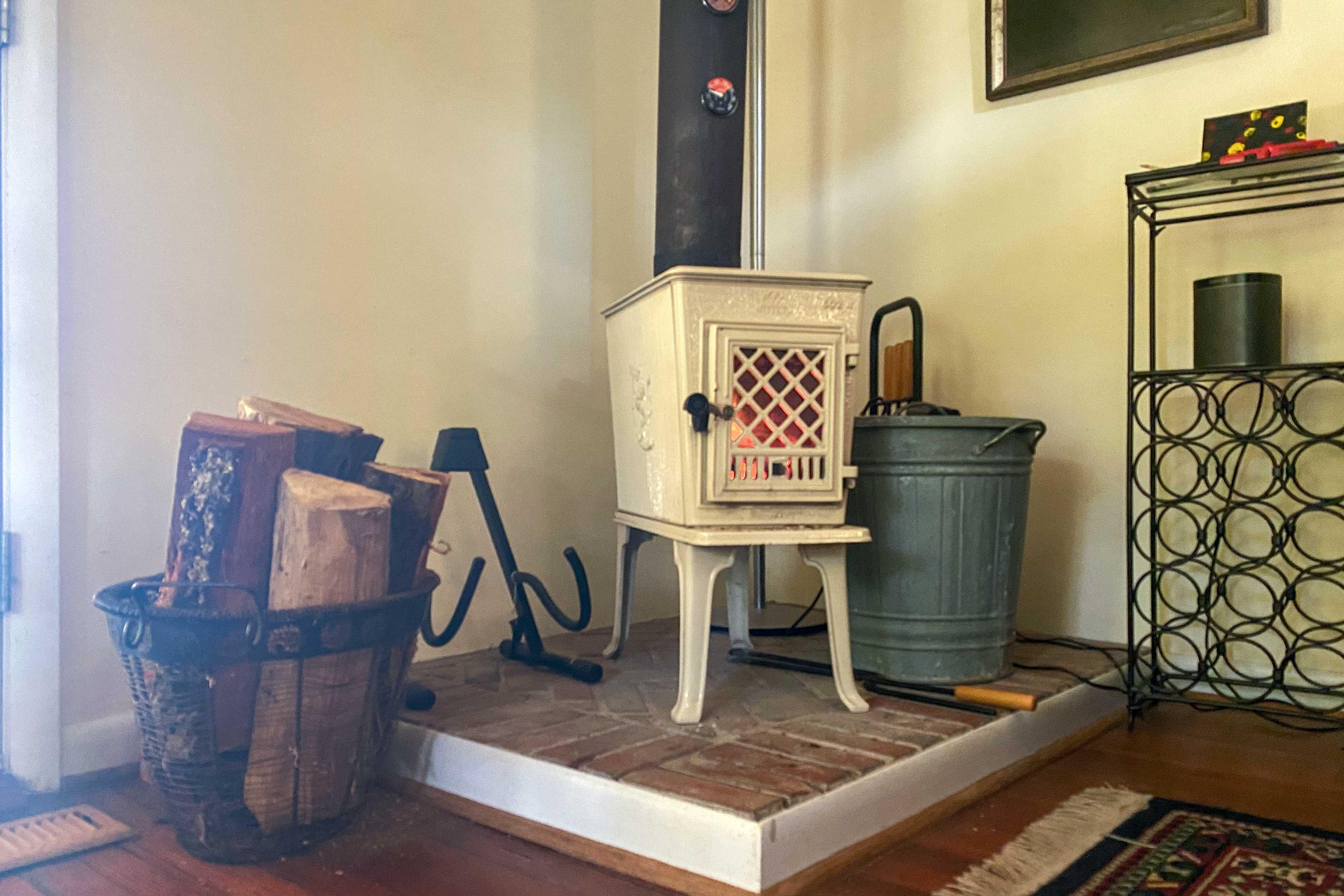 Living Room | Firewood Provided