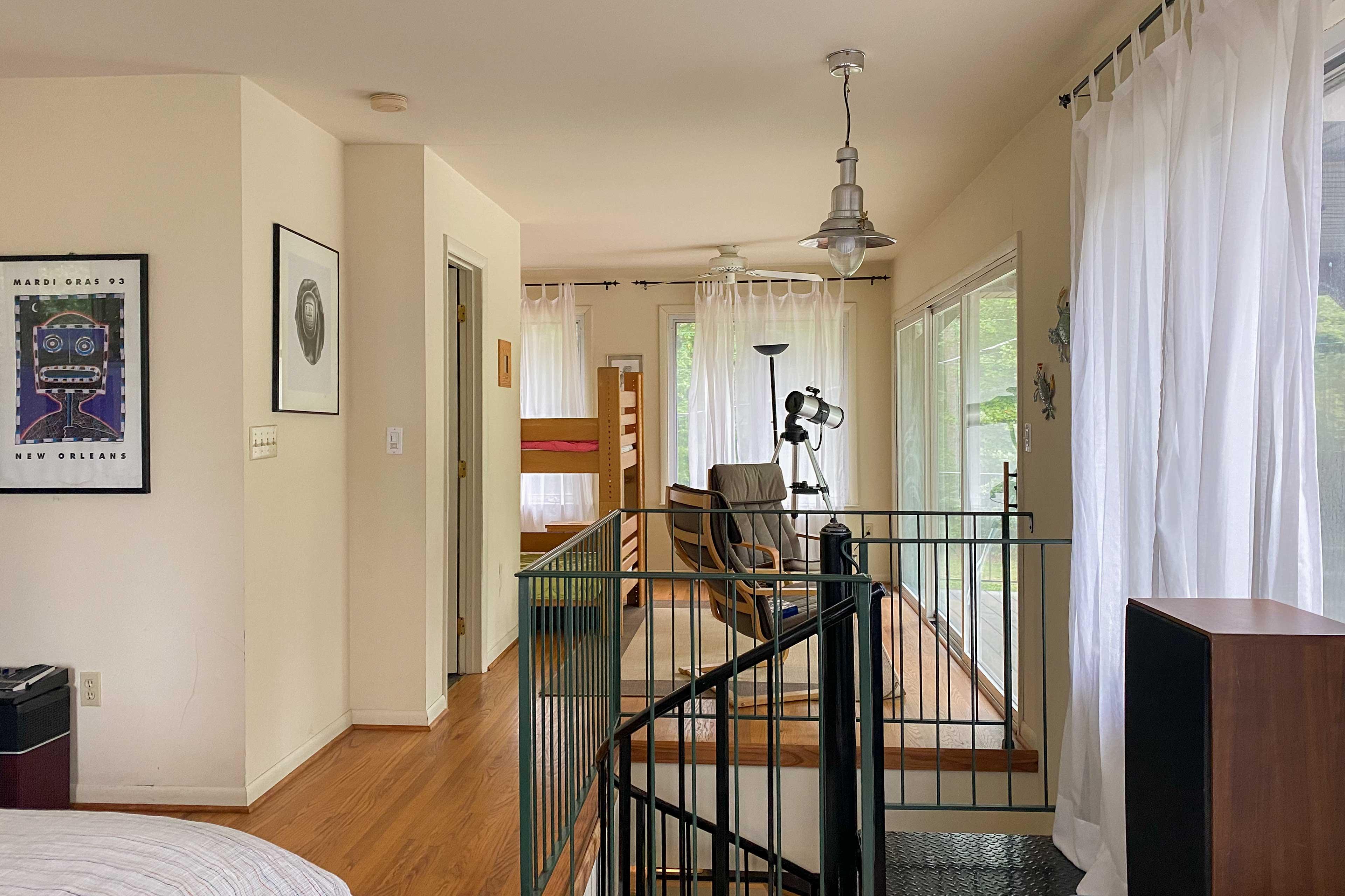 Loft | Additional Sleeping | Balcony Access
