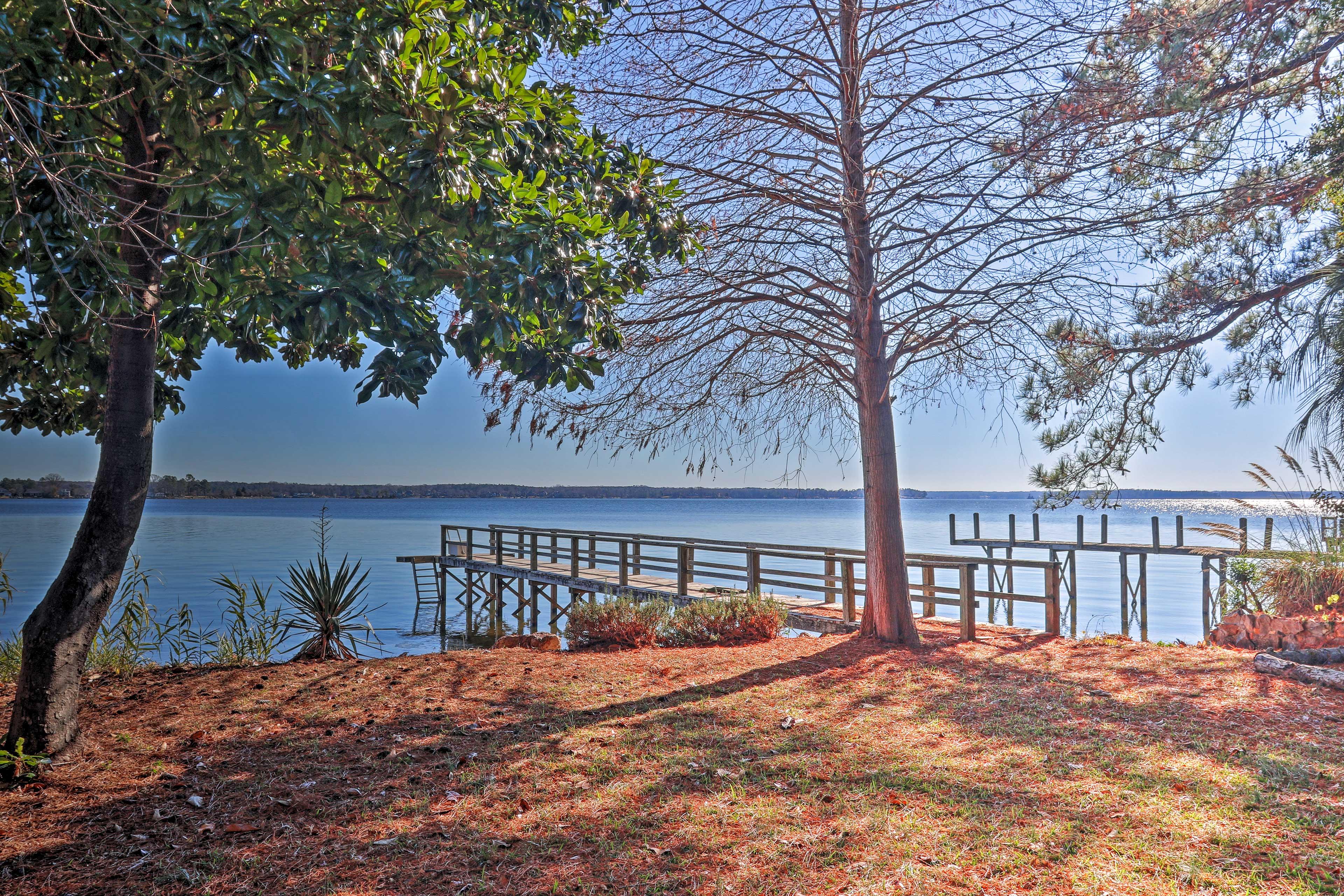 Spend your days enjoying Lake Murray.