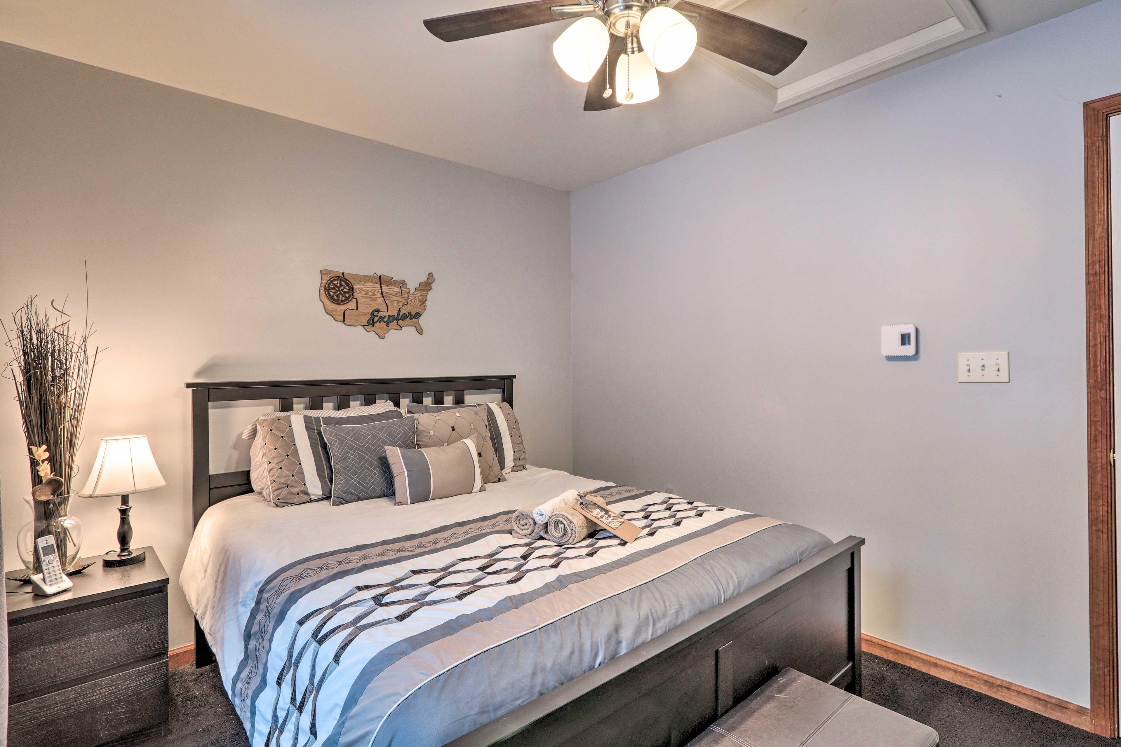 Bedroom 2   Ceiling Fan