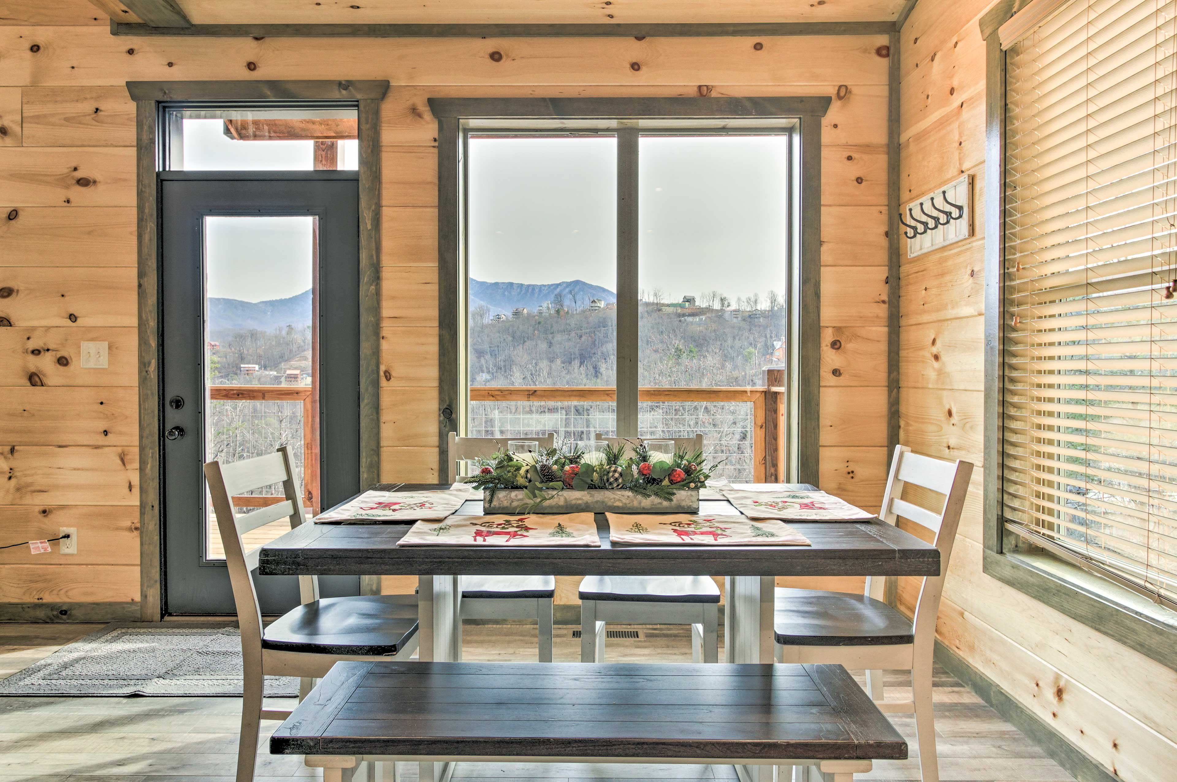 Eat a home cooked meal with a view!