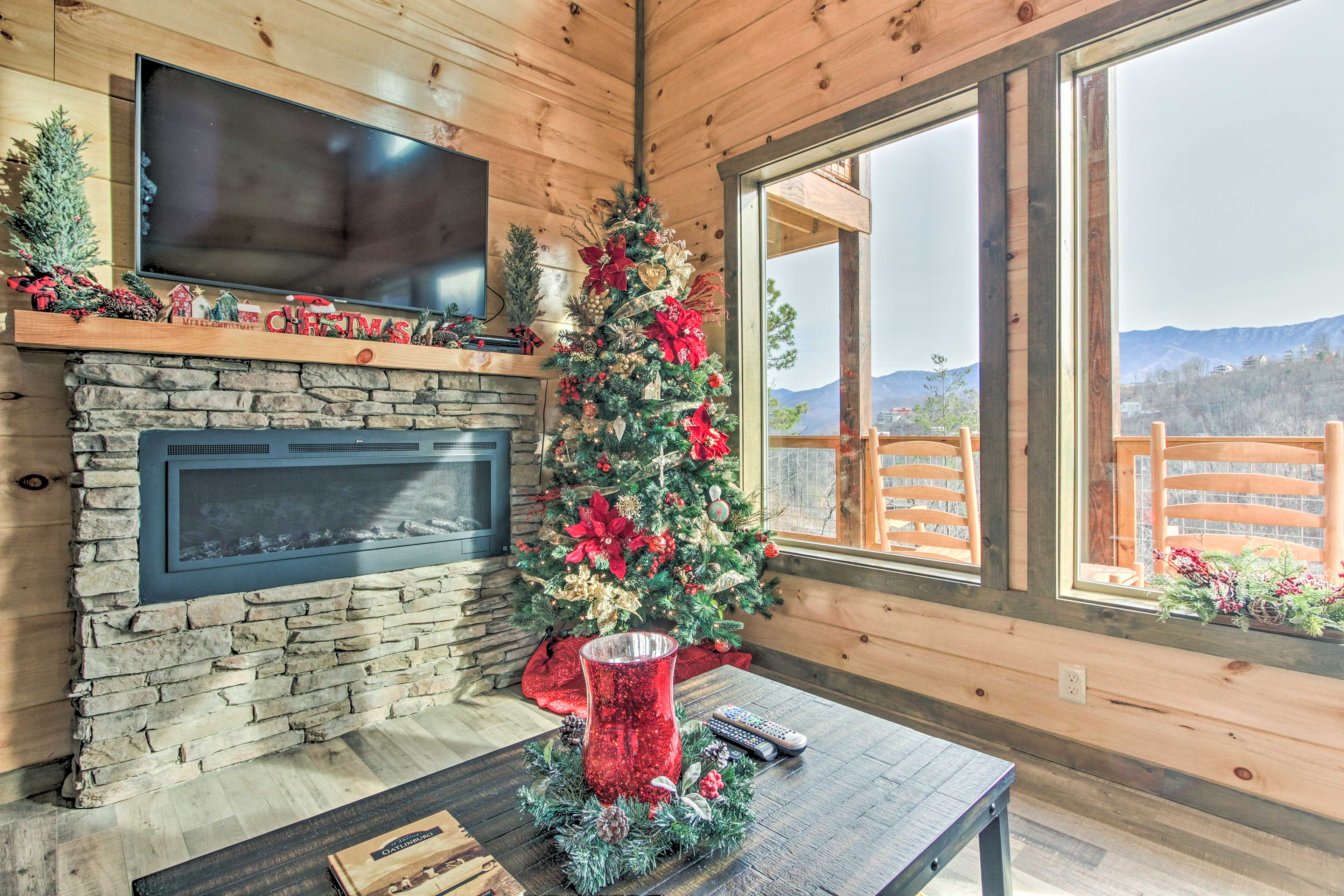 Cozy up to one of the 2 fireplaces.