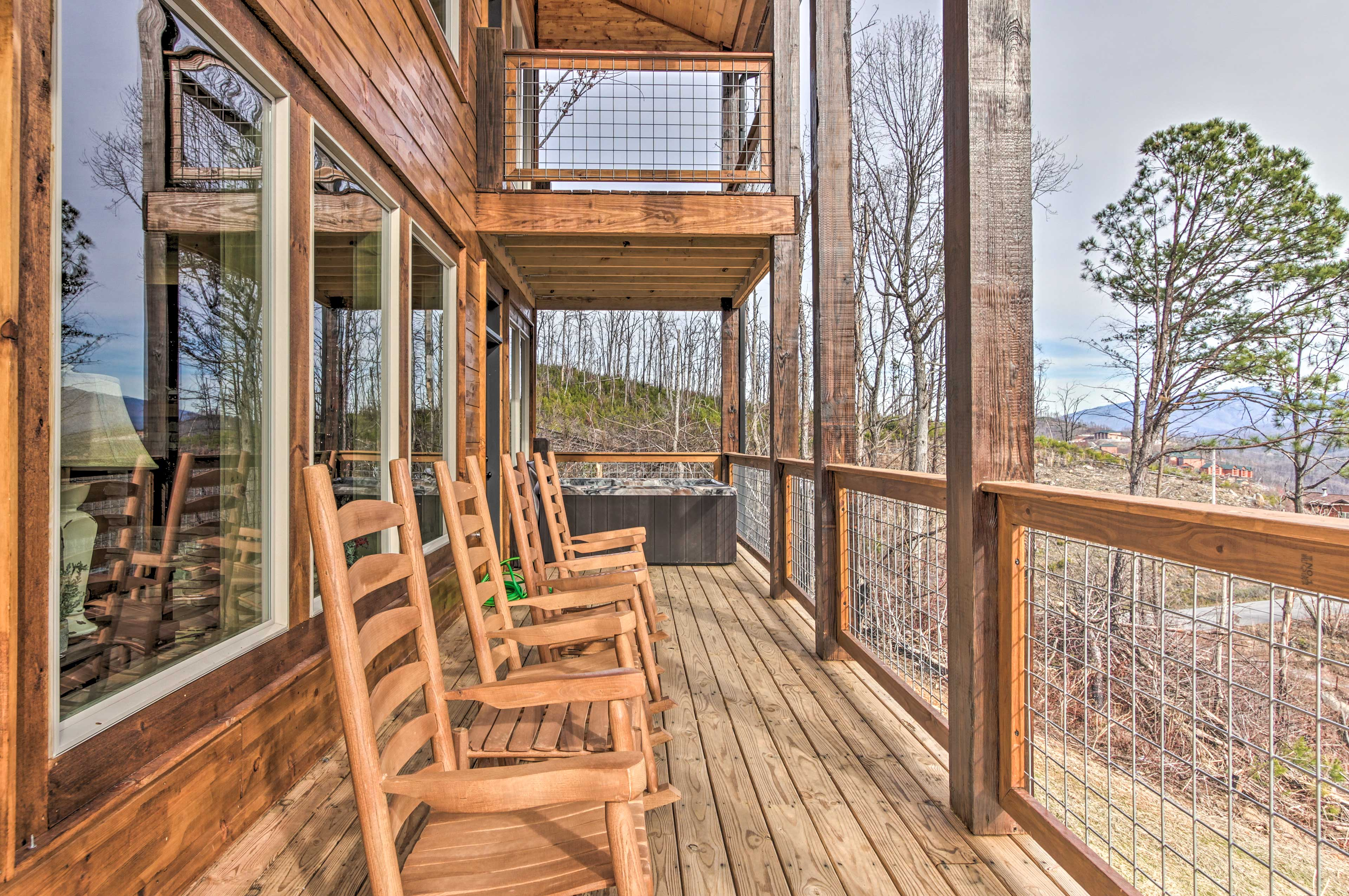 With spectacular mountain views and a sleek interior, you'll love every minute!