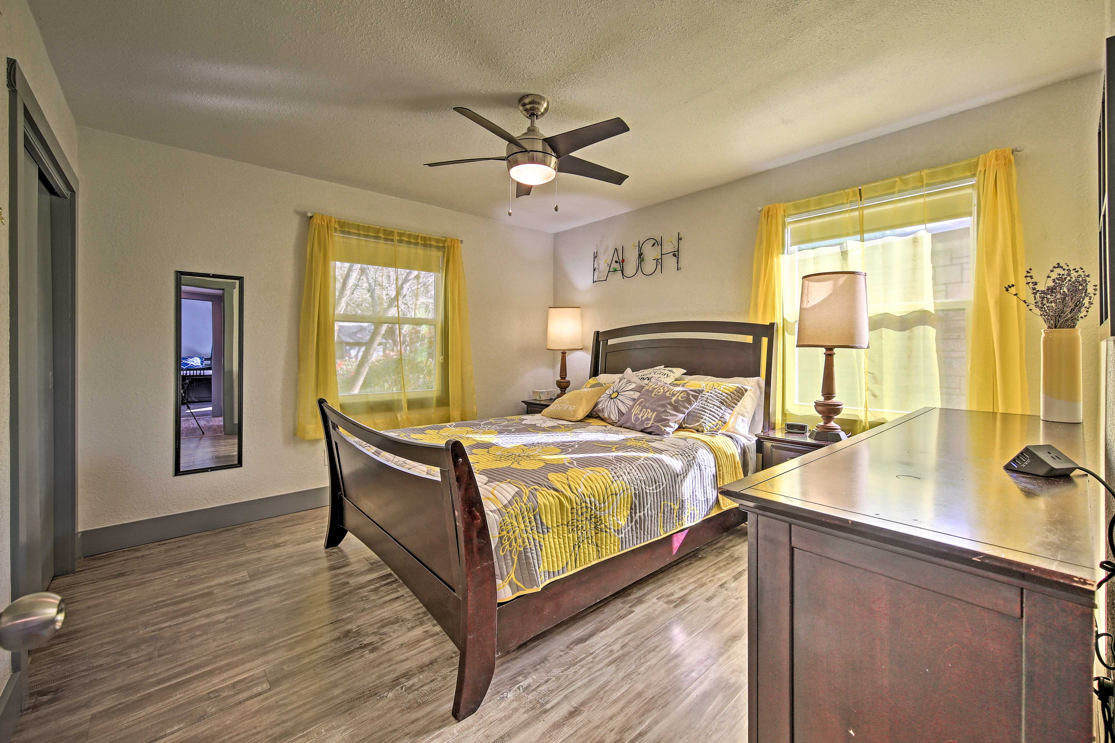 Fall asleep quickly in the master bedroom.