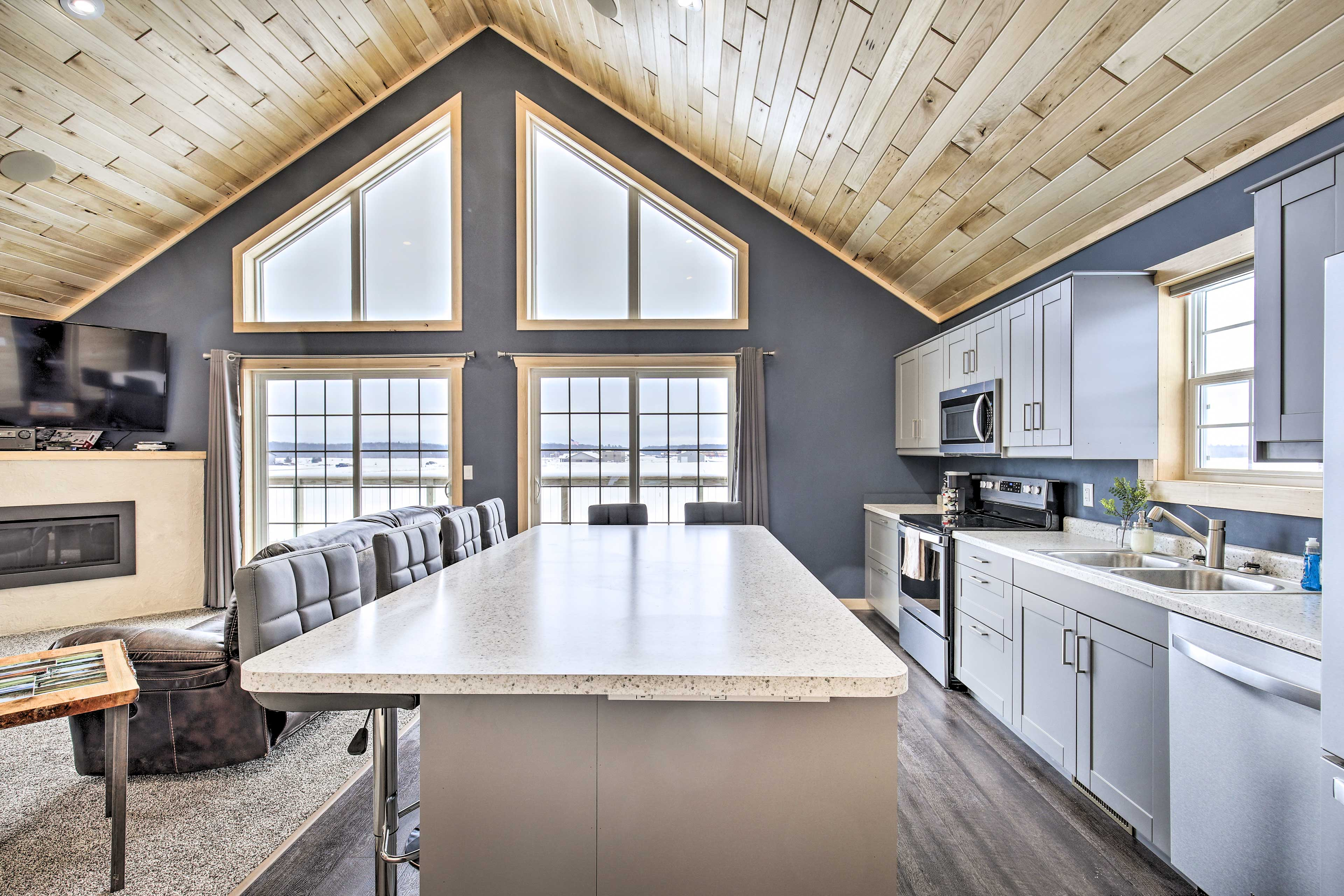 Enjoy a classic Wisconsin retreat at this vacation rental house!