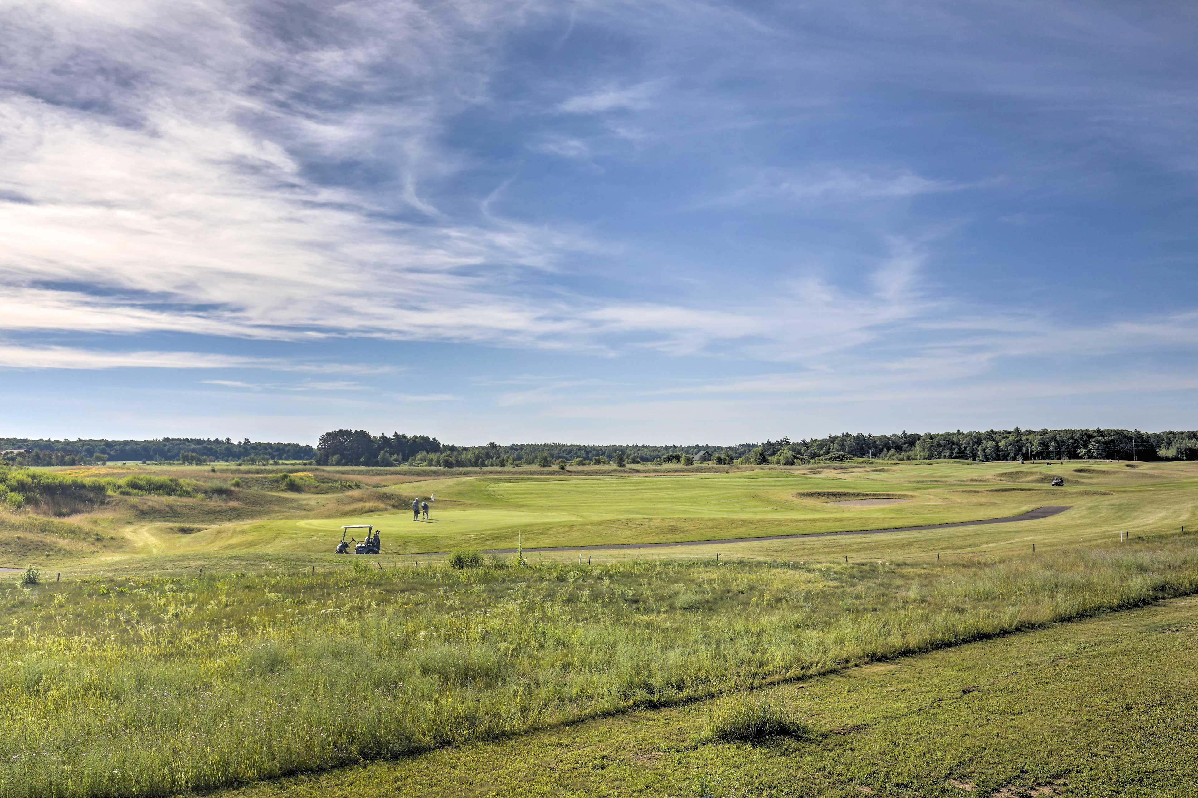 Enjoy views of the the second fairway of Big Fish Golf Club.
