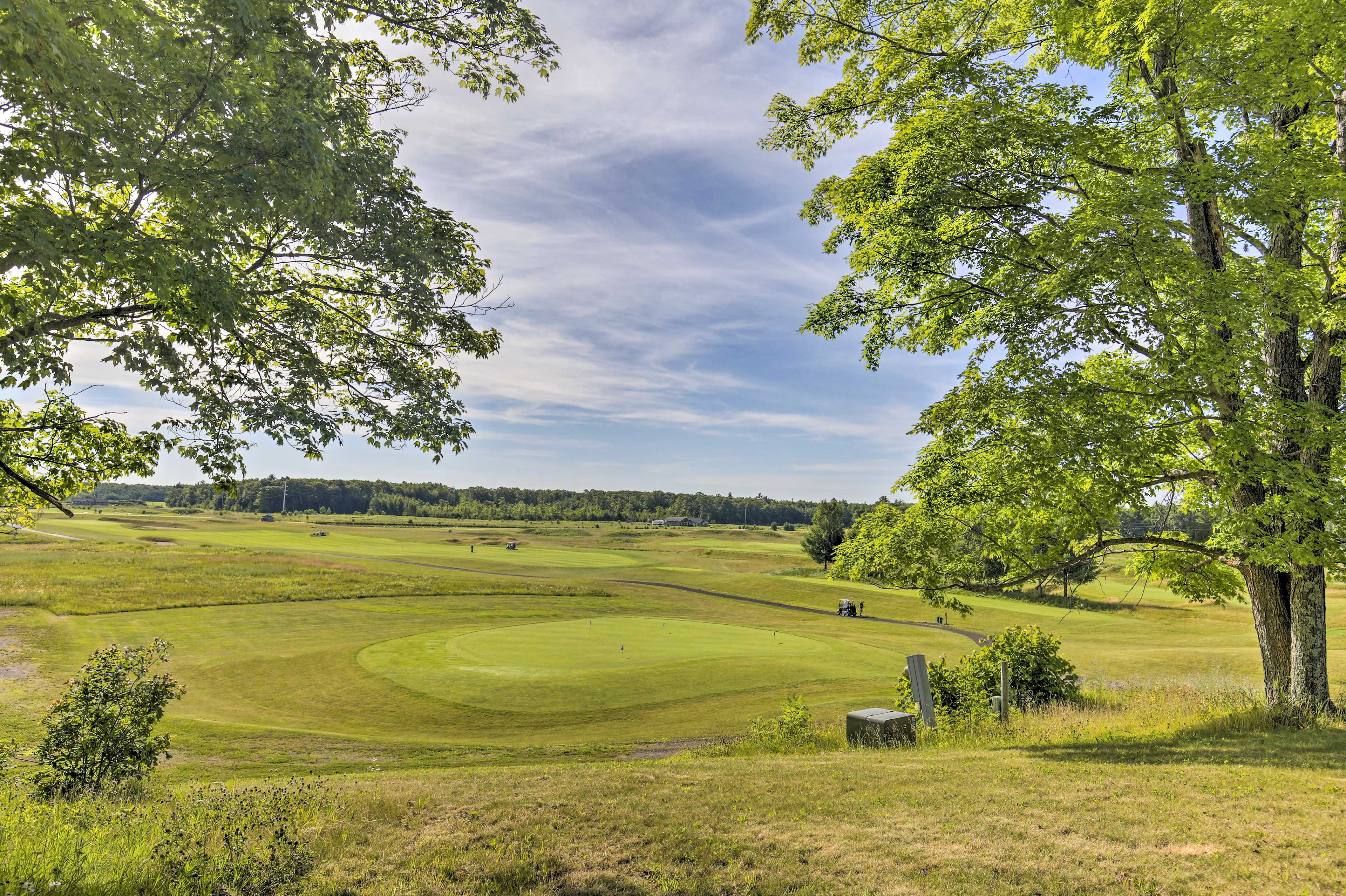 This destination is perfect for golf enthusiasts.