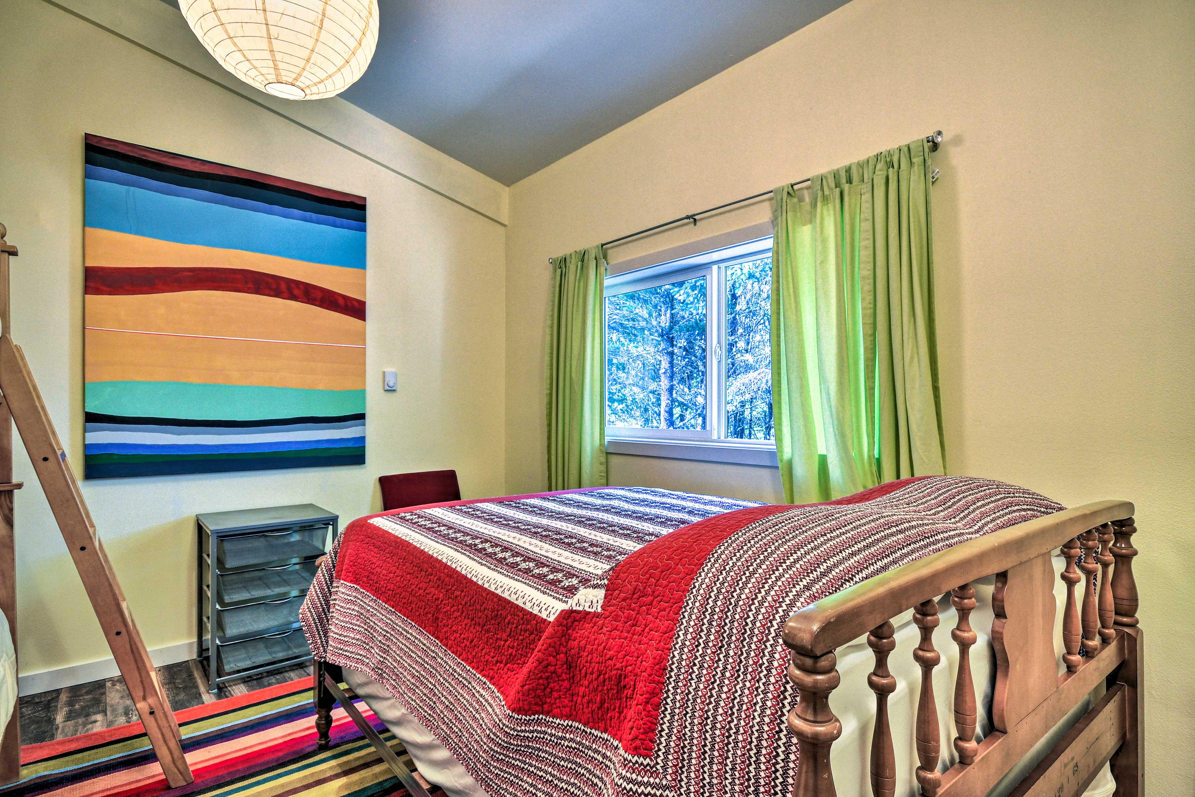 Bedroom 5 | Full Bed | Twin Bunk Bed