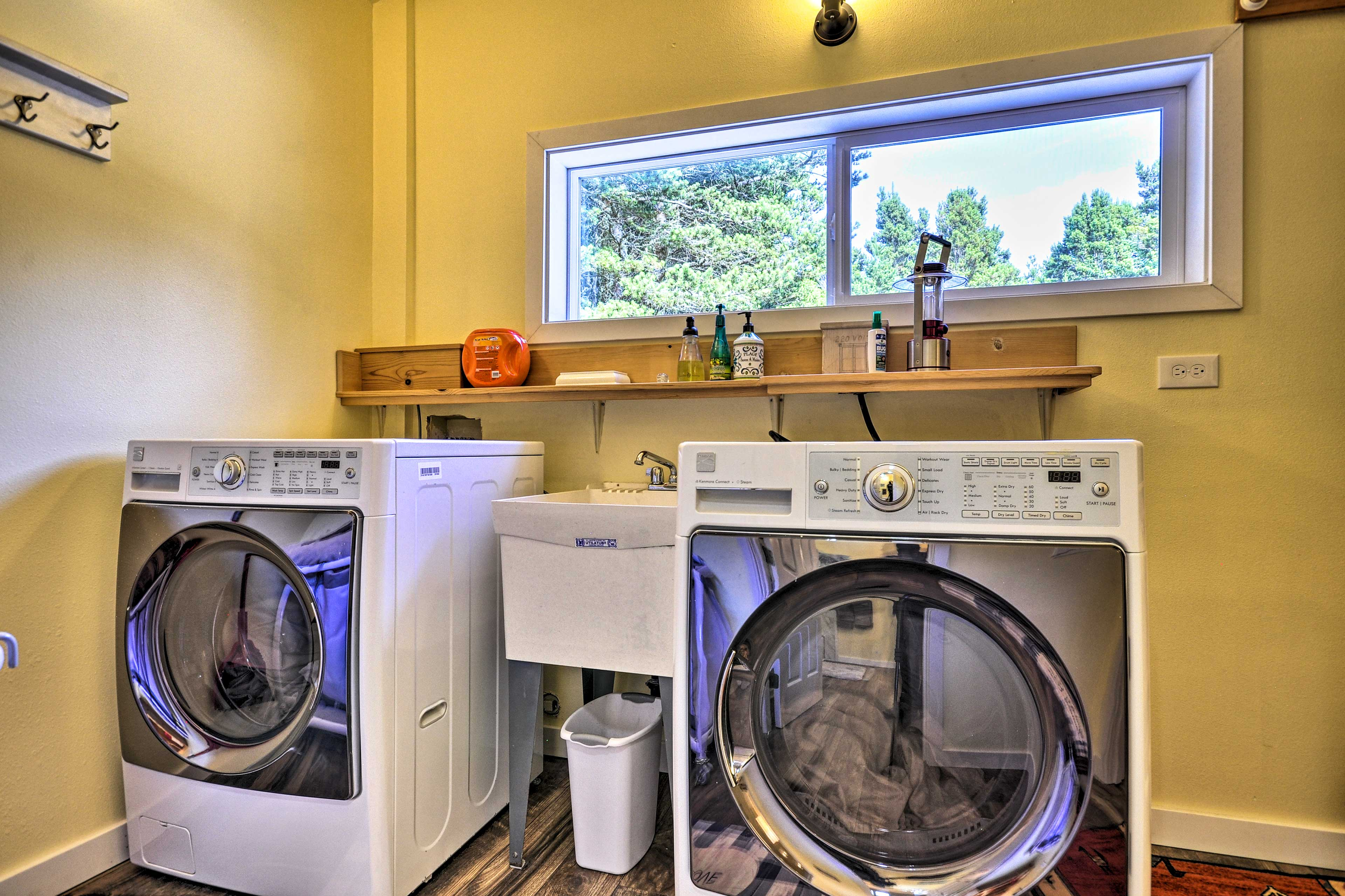 Second Set of In-Unit Laundry Machines
