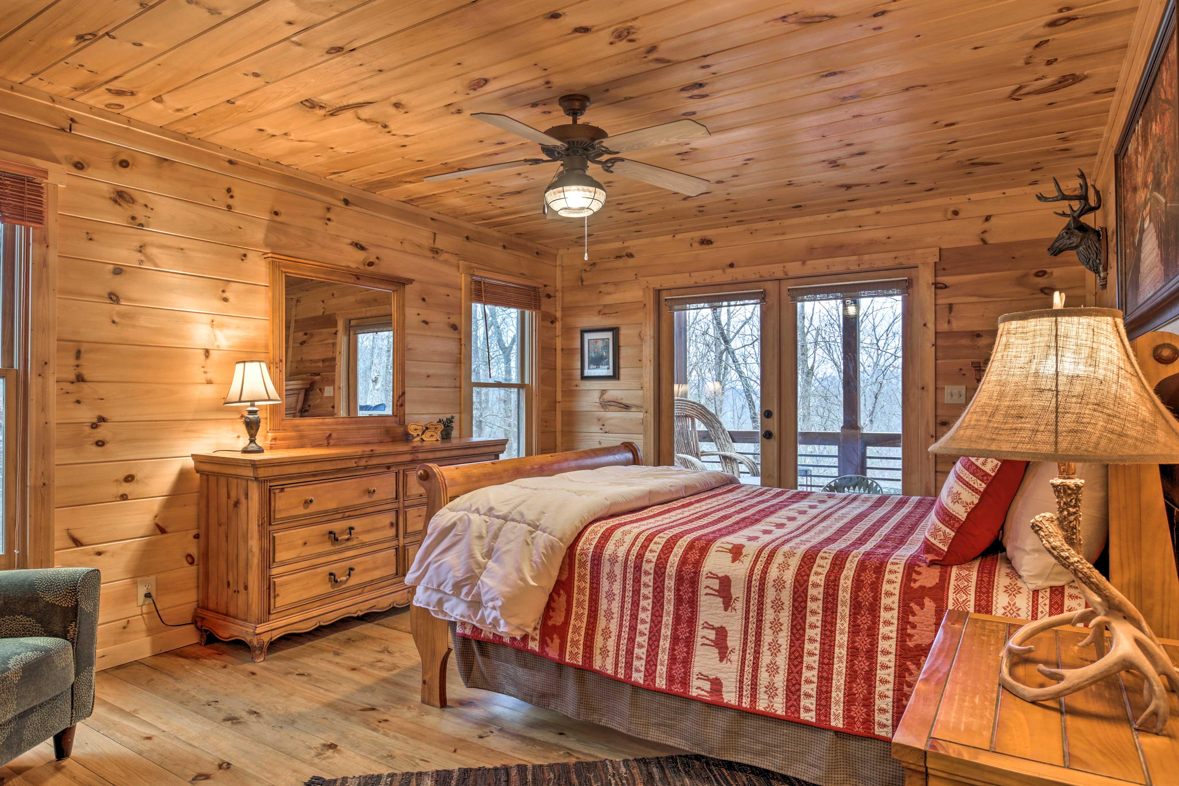 Bedroom 2 | Queen Bed | Deck Access