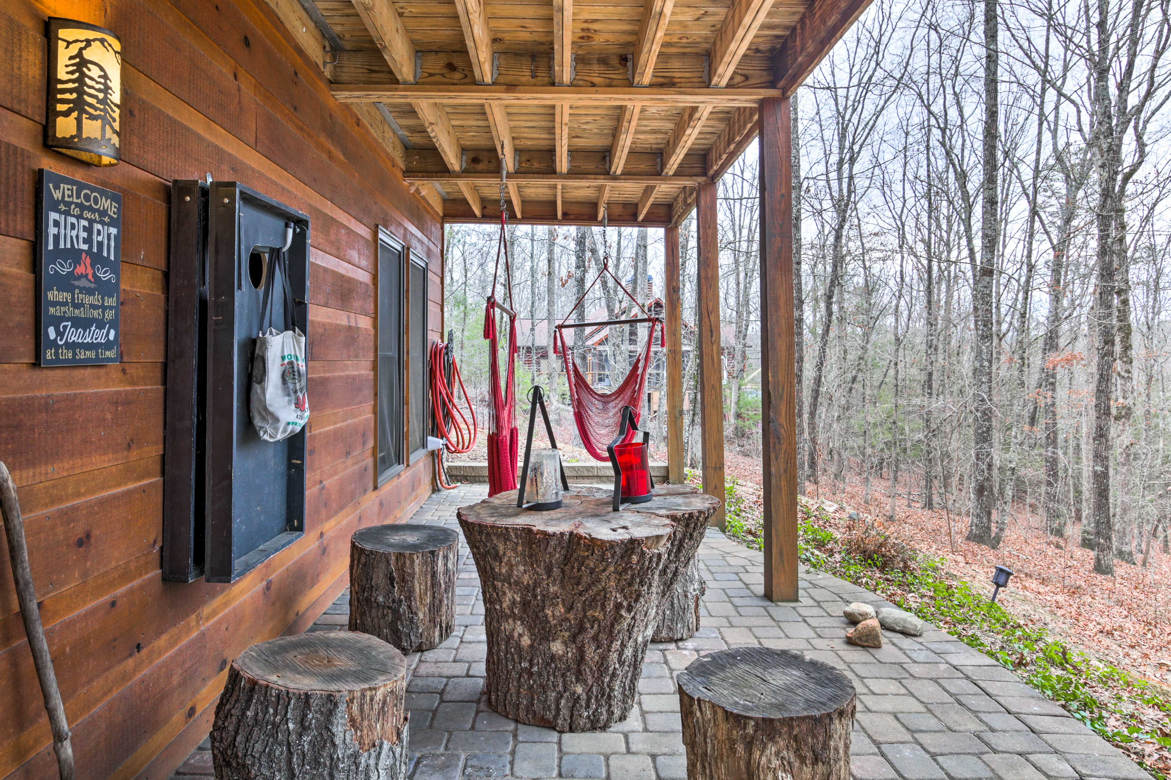 Walk-Out Patio | Furnished