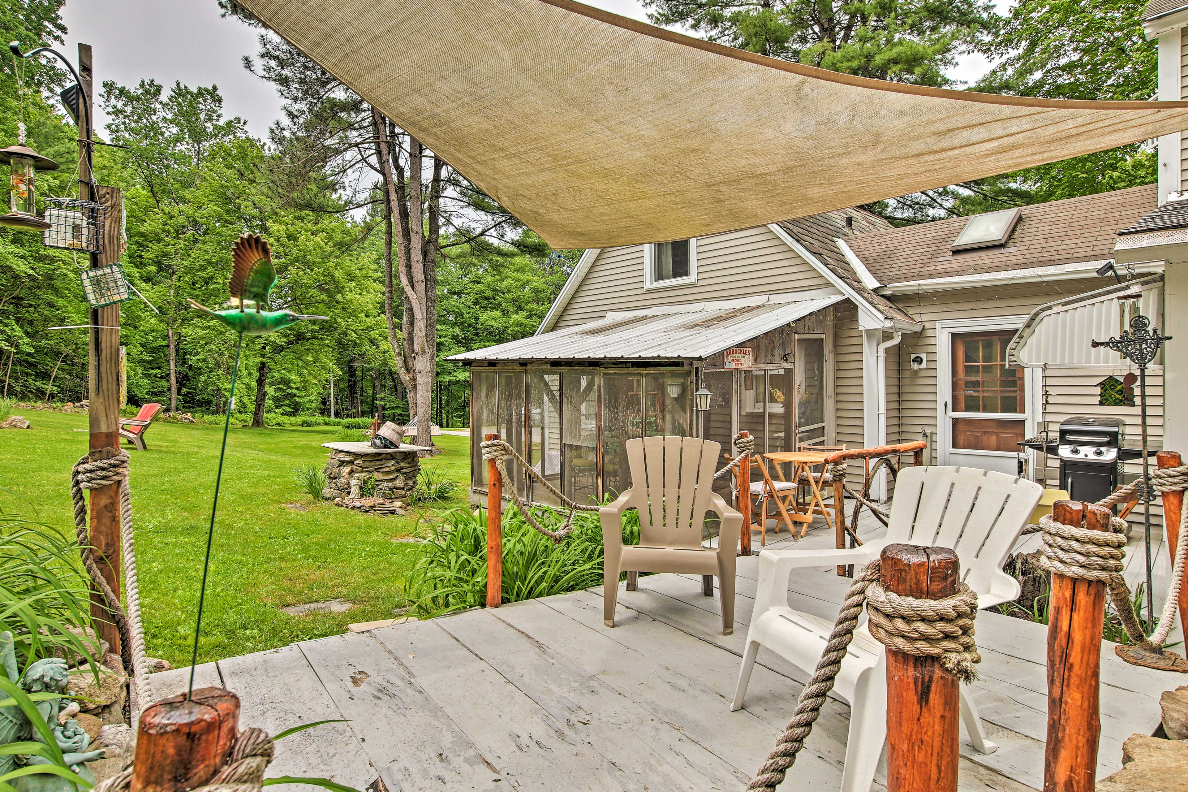 This cozy cottage is home to 2-bedrooms and 1 bathroom.