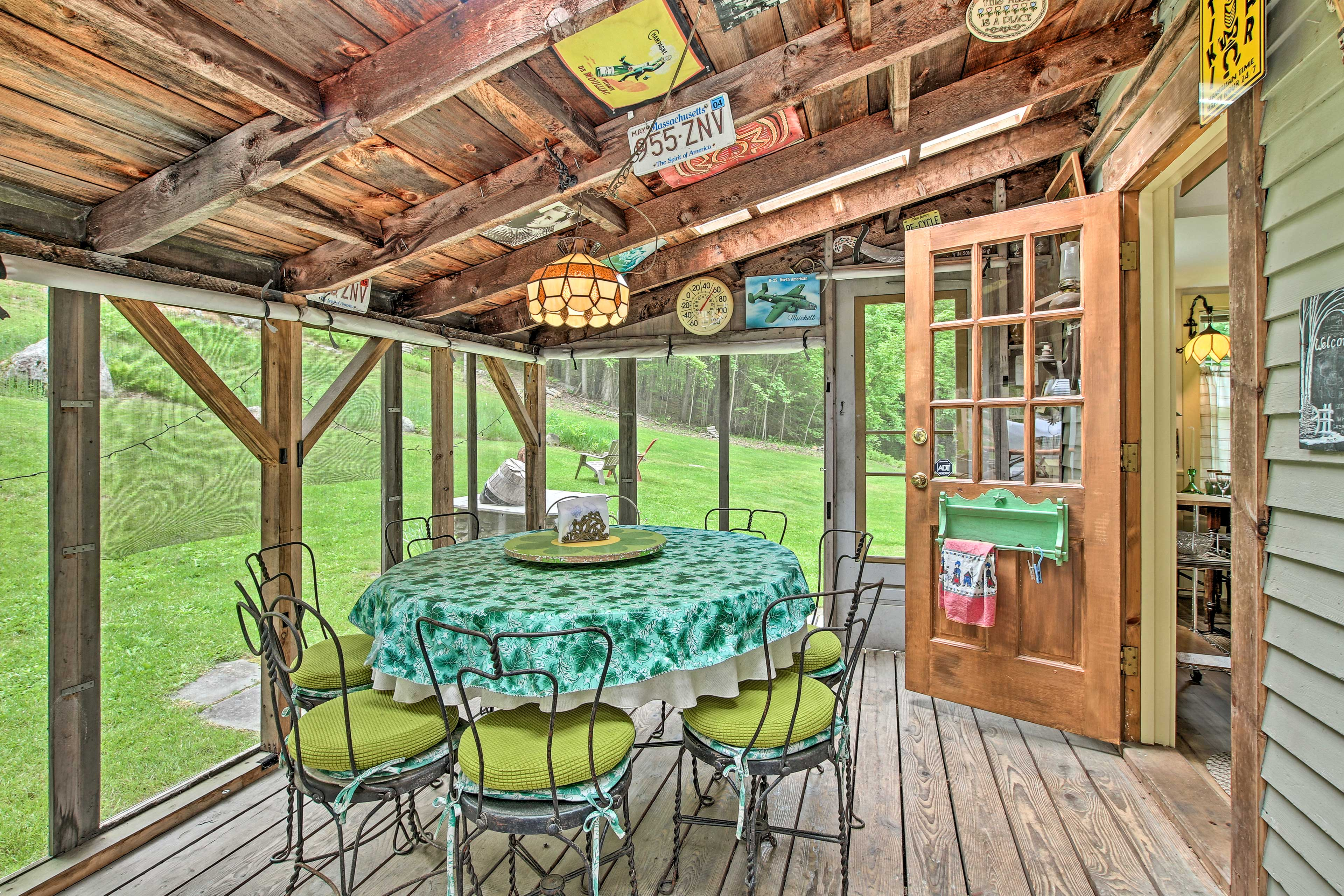 Enjoy a peaceful Northfield visit when you book this vacation rental.