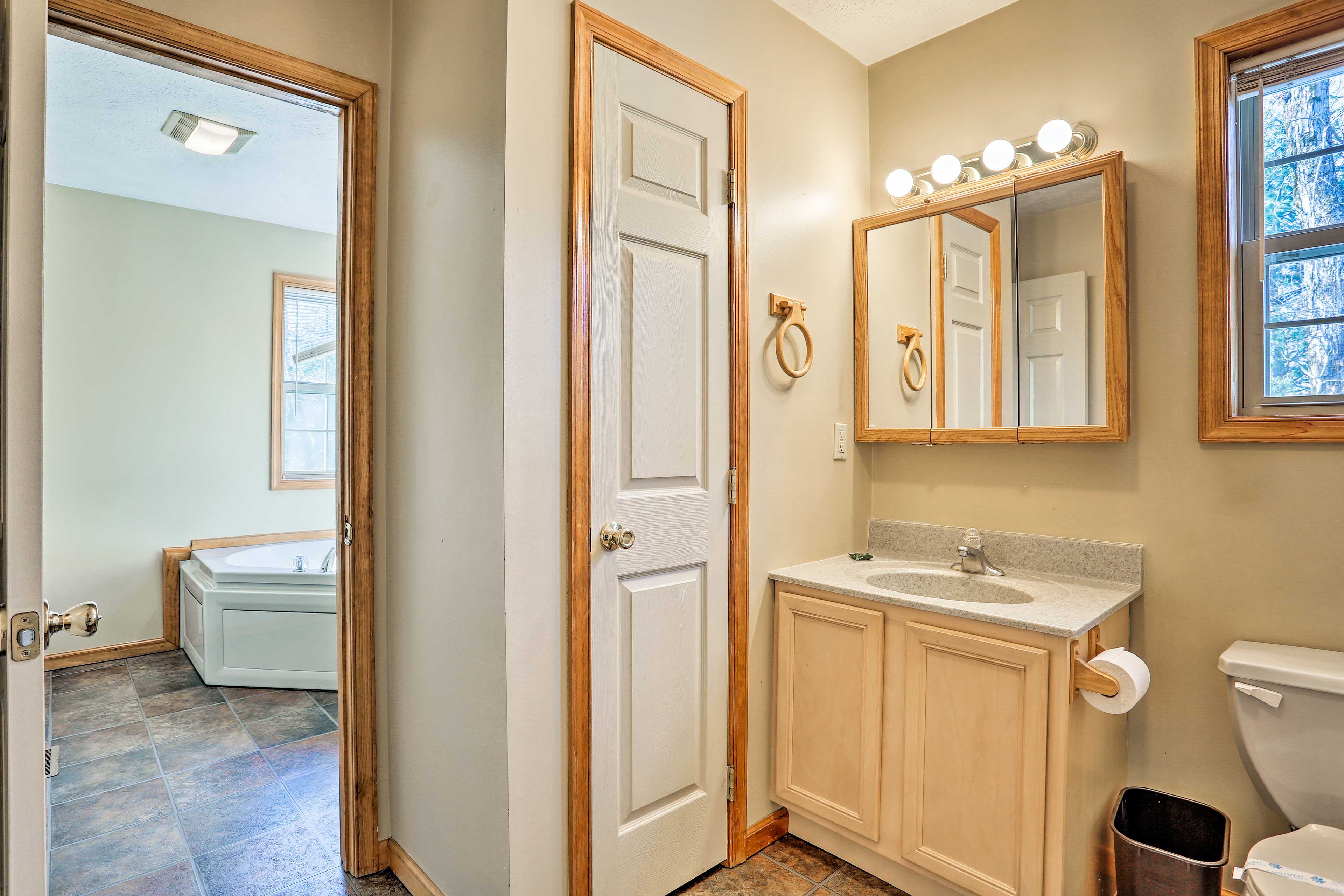 This home features a total of 3 bathrooms.