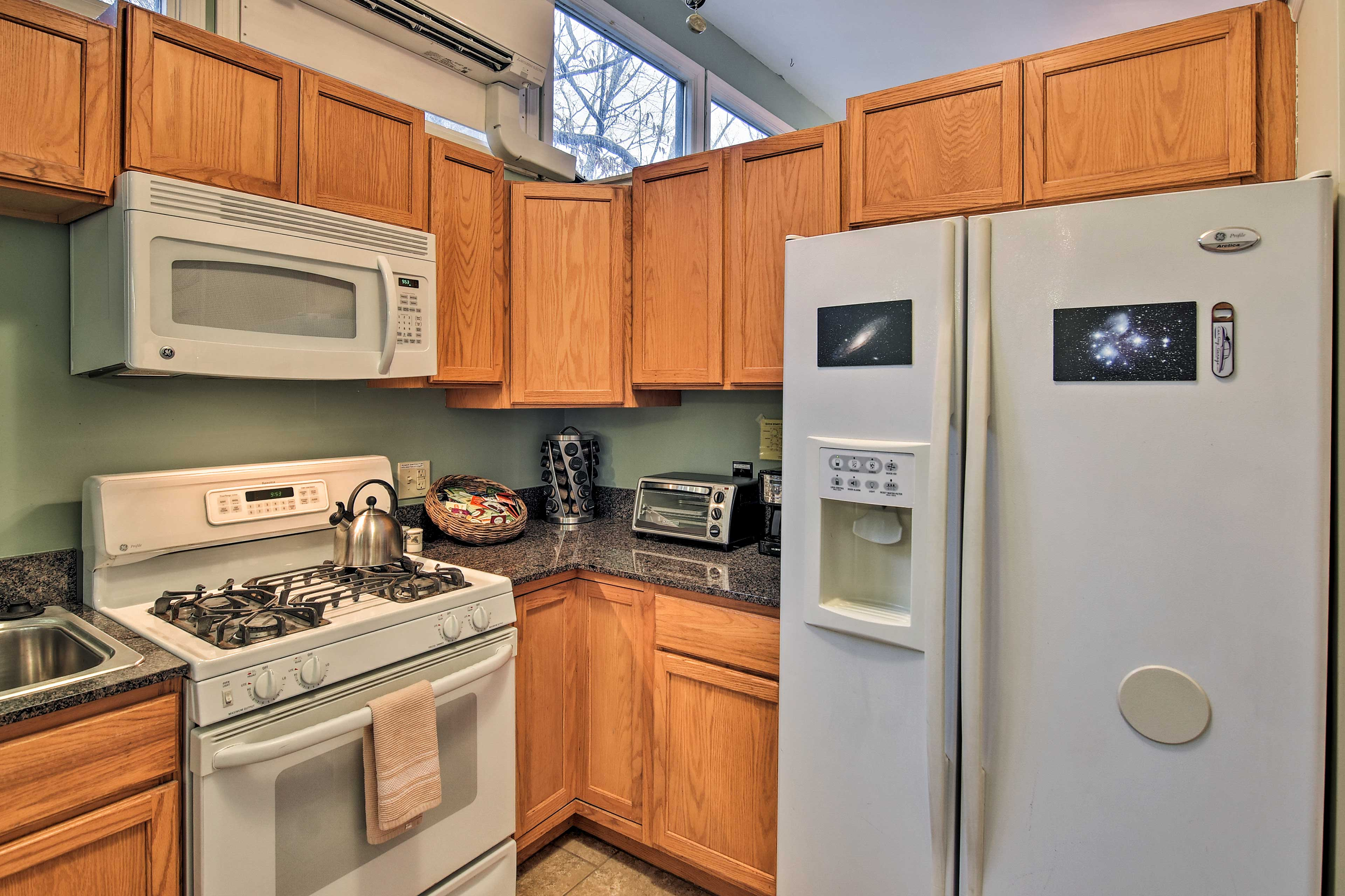 Bring your furry friend to this pet-friendly apartment to explore with you!