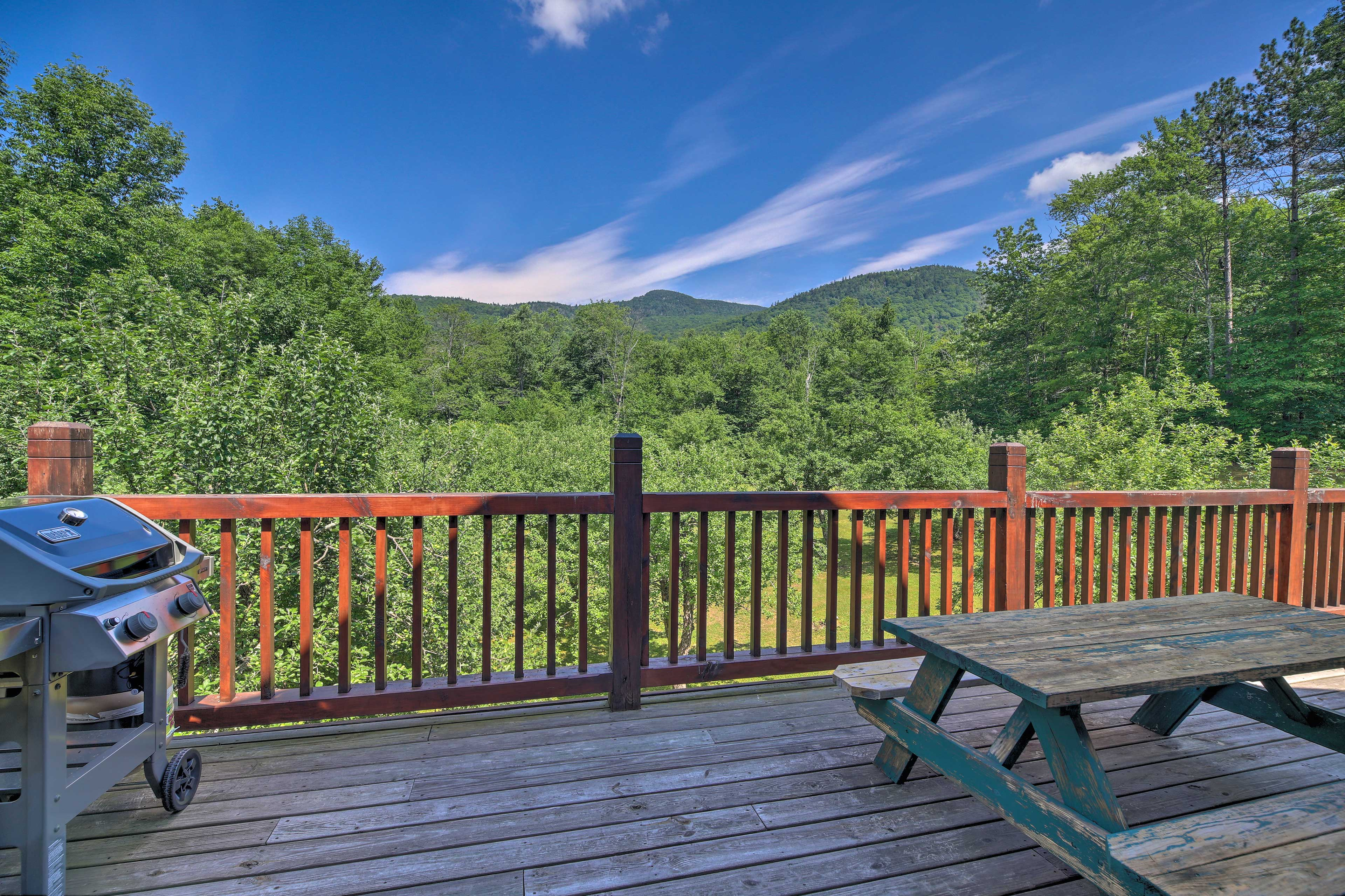 Enjoy barbecuing next to these views!
