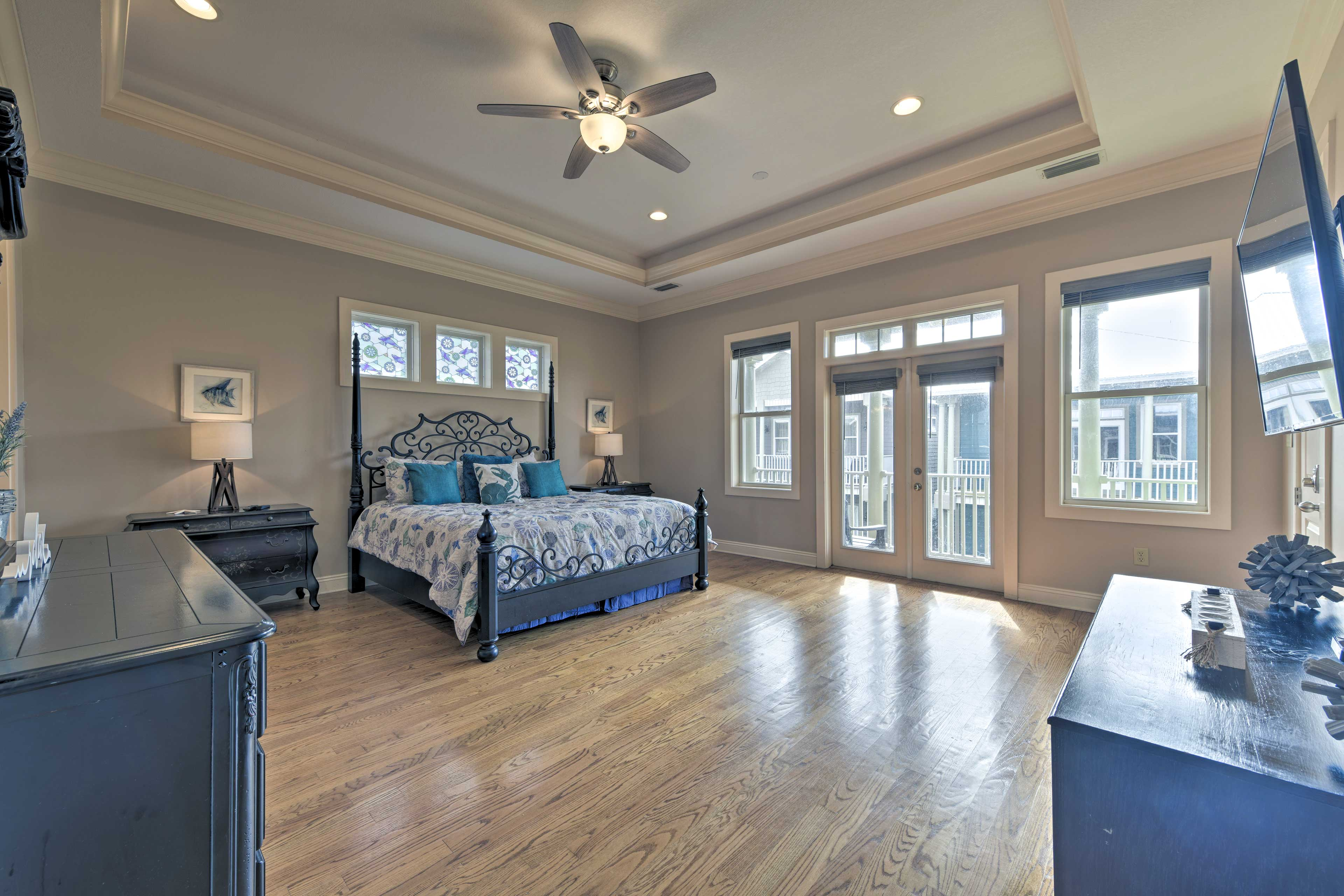 Get a taste of the sweet life in this top-floor master suite!