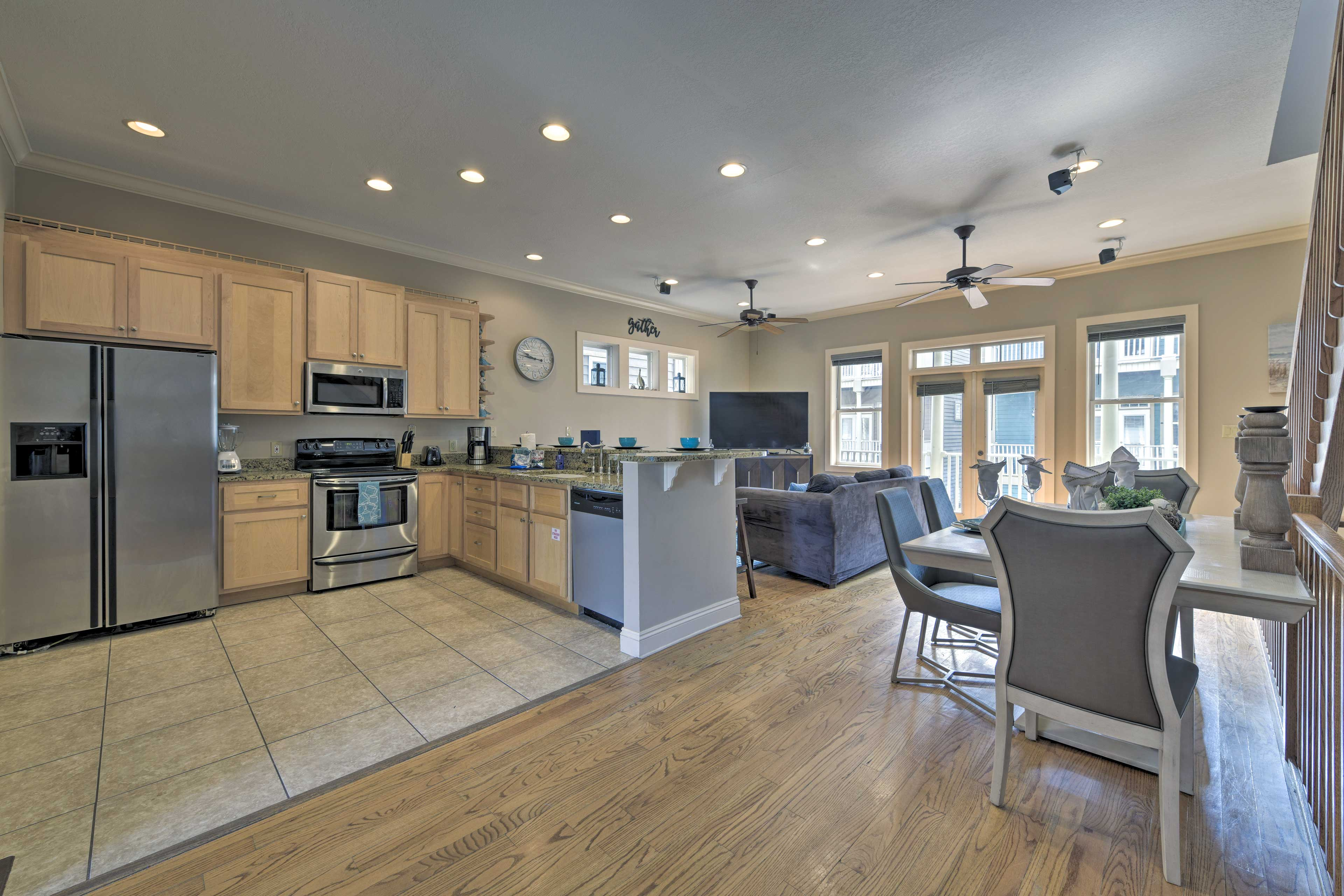The property boasts nearly 3,000 square feet of living space.